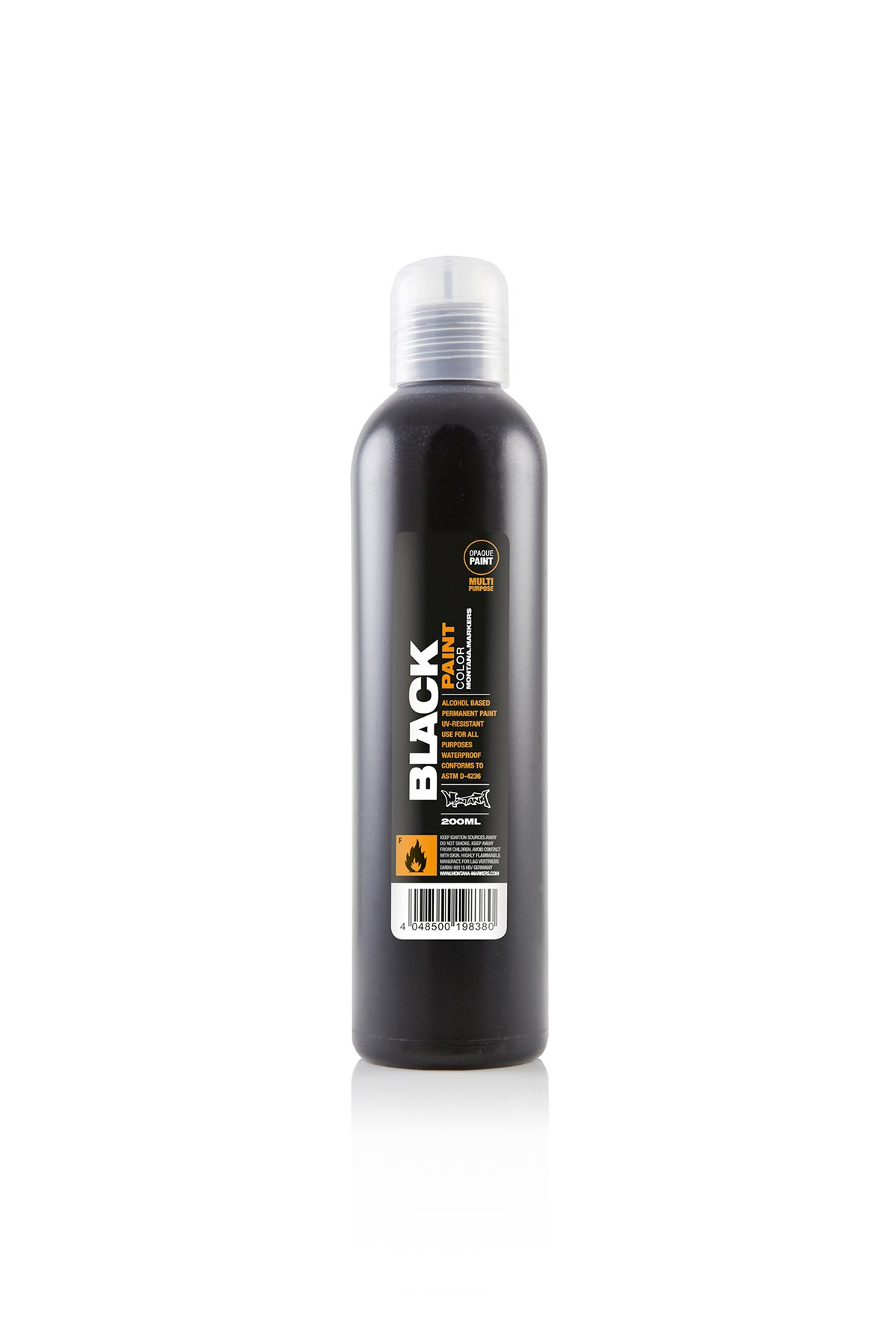 Montana BLACK PAINT REFILL 200ml