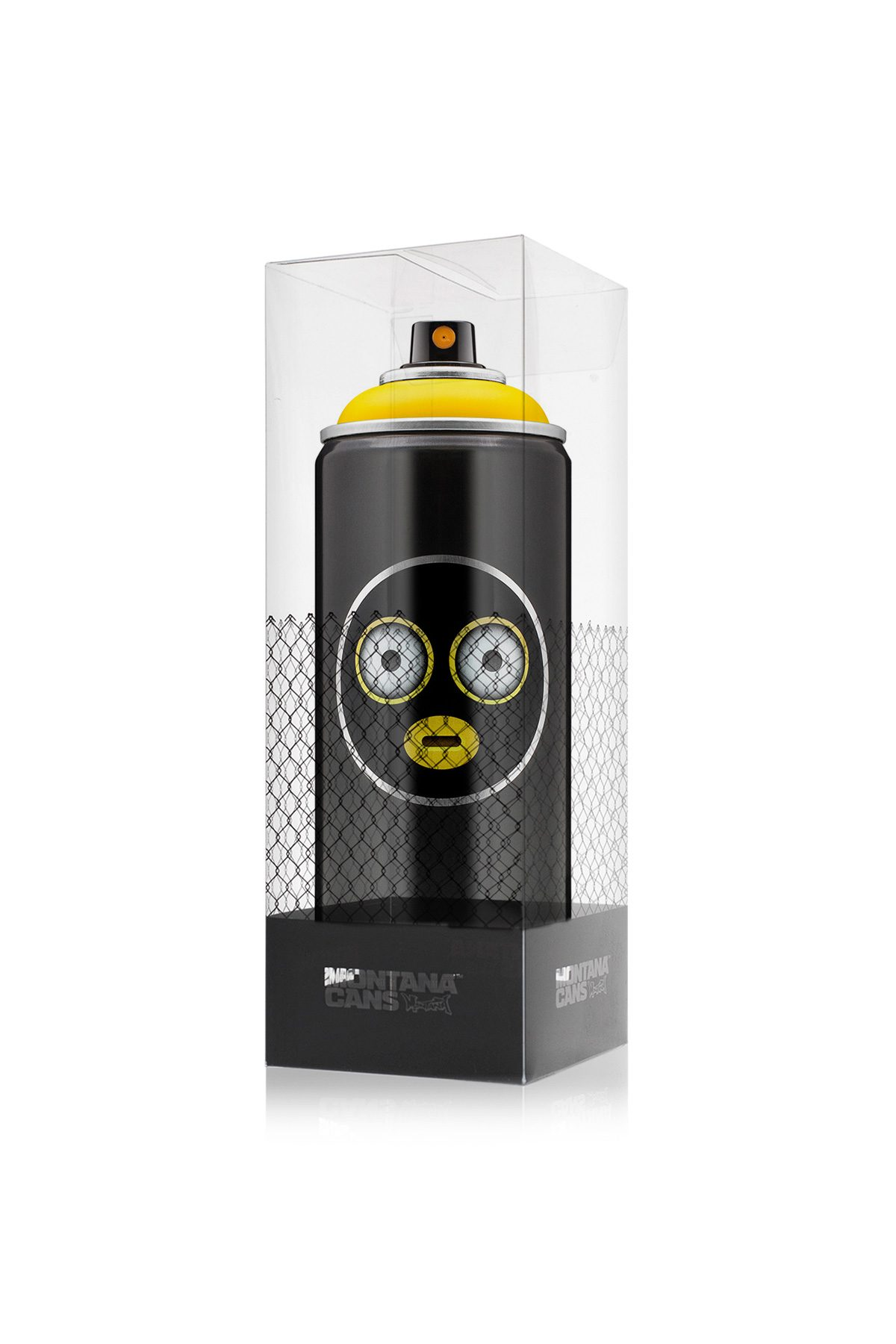 Montana BLACK #EMOJIVANDALS - Kicking Yellow - Limited Edition 400ml