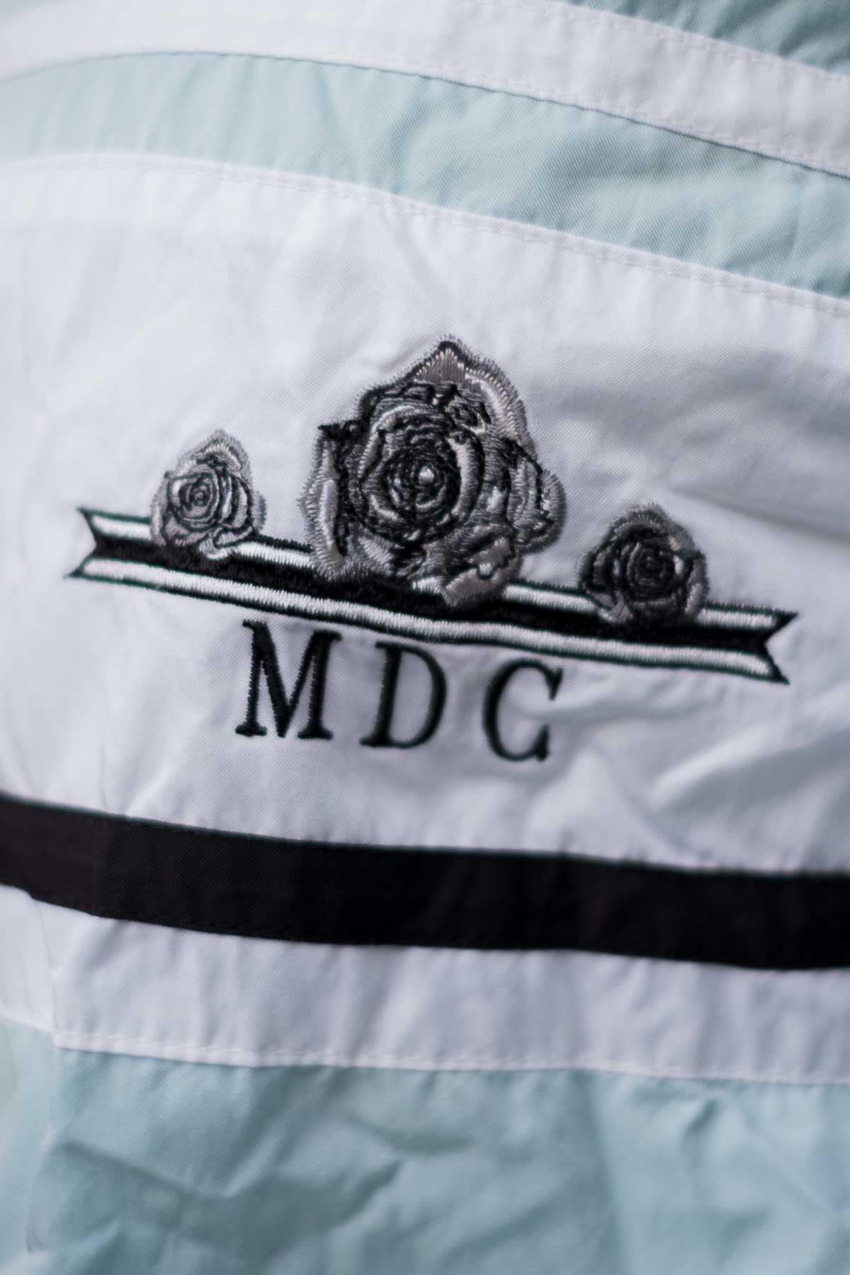 Mdc GIUBBOTTO VINTAGE DOUBLE-FACE Azzurro