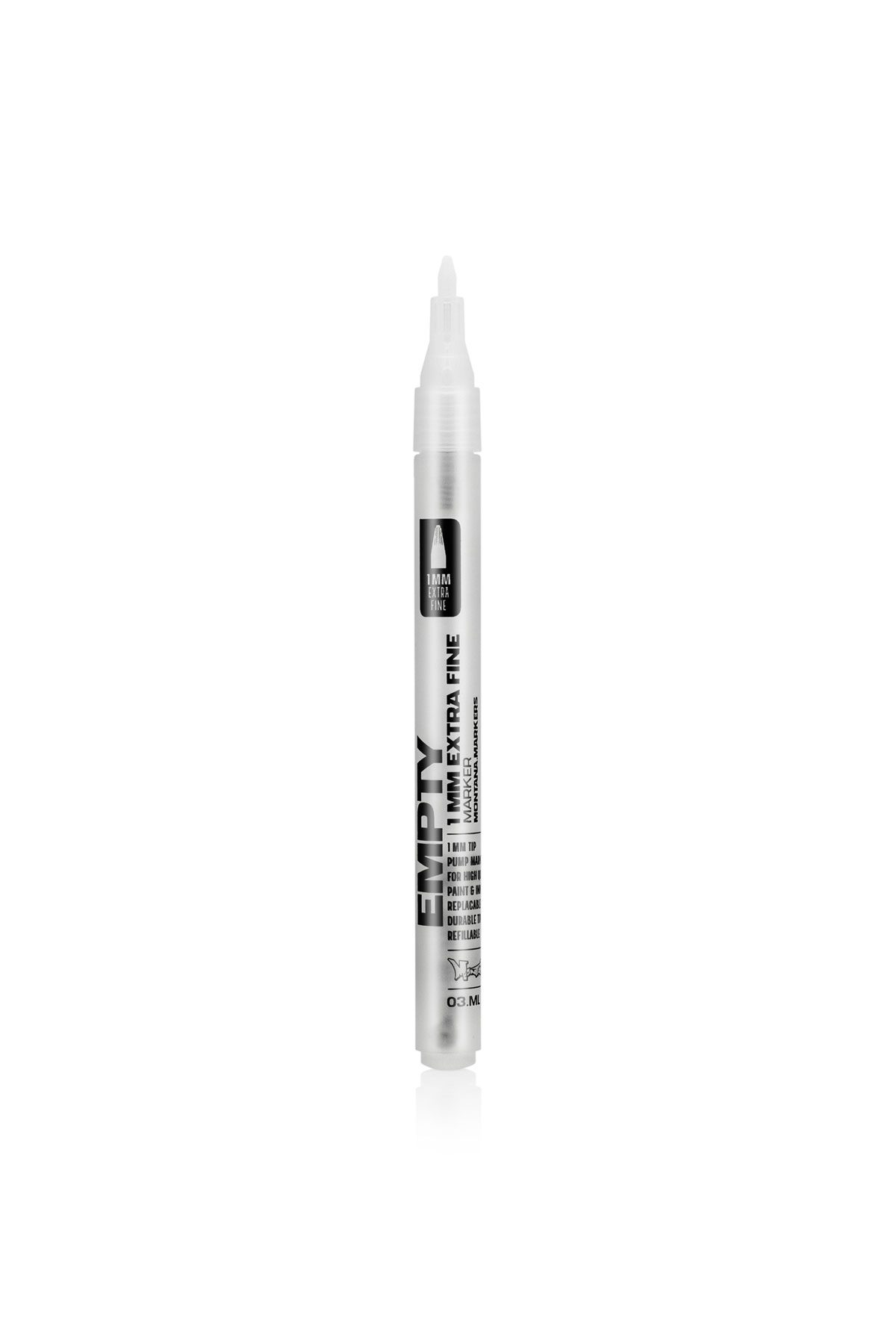 Montana BLACK EMPTY Marker 1mm