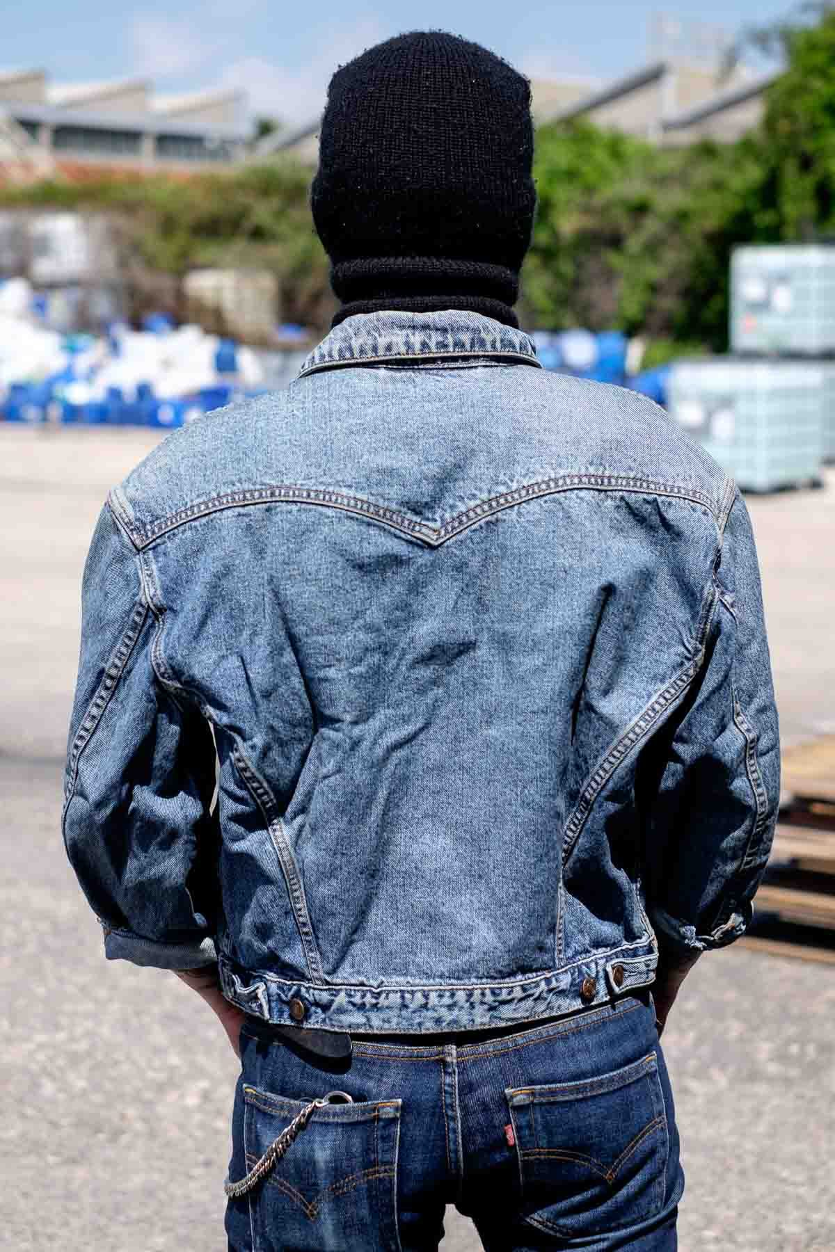 Giacca Jeans Levi's Vintage 80s