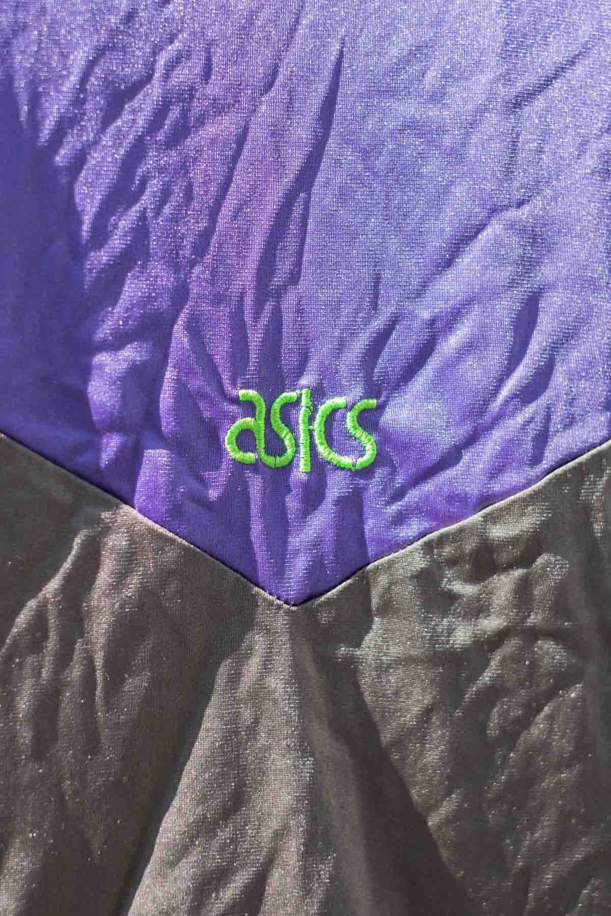 Asics FELPA VINTAGE 90S Viola-Verde
