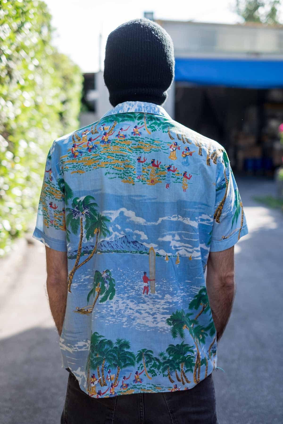 Fantasy CAMICIA VINTAGE Hawaii