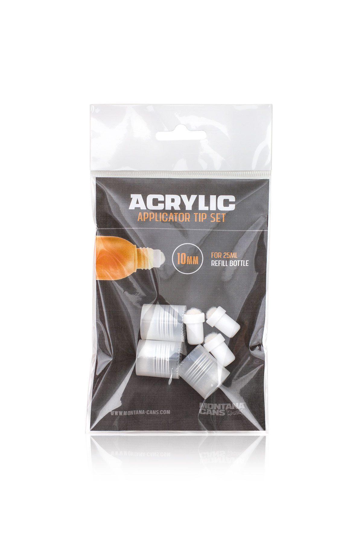 Montana ACRYLIC APPLICATOR Tip Set 10mm