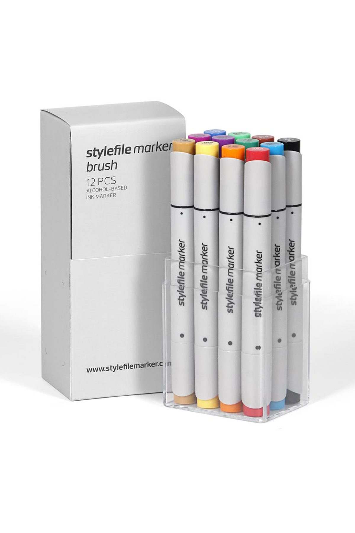 Stylefile BRUSH Marker 12 A Main Set