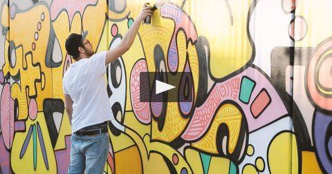 Yellow Jam in collaborazione con Montana Cans (Video)