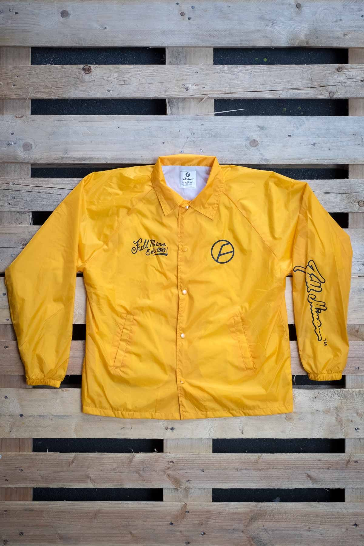 Full Mine Coach Jacket Yellow
