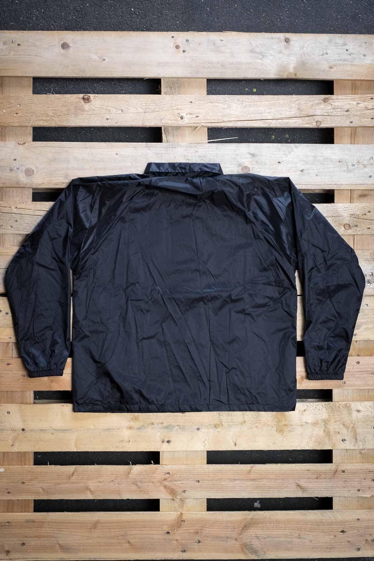 Full Mine Coach Jacket Black Logo