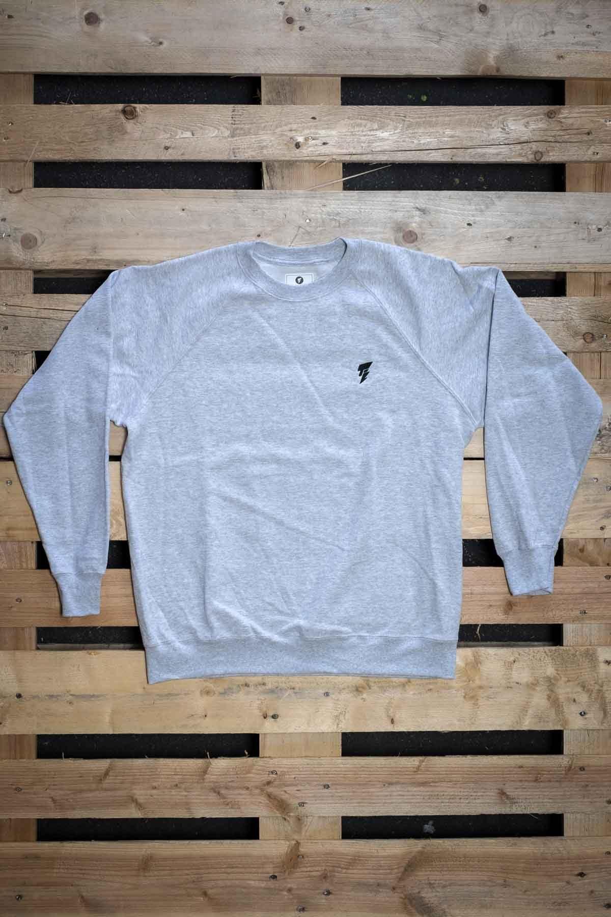 Full Mine Raglan Light Sweatshirt Logo Small