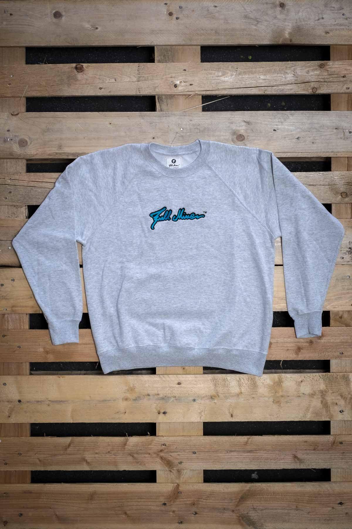 Full Mine Raglan Light Sweatshirt Logo Big