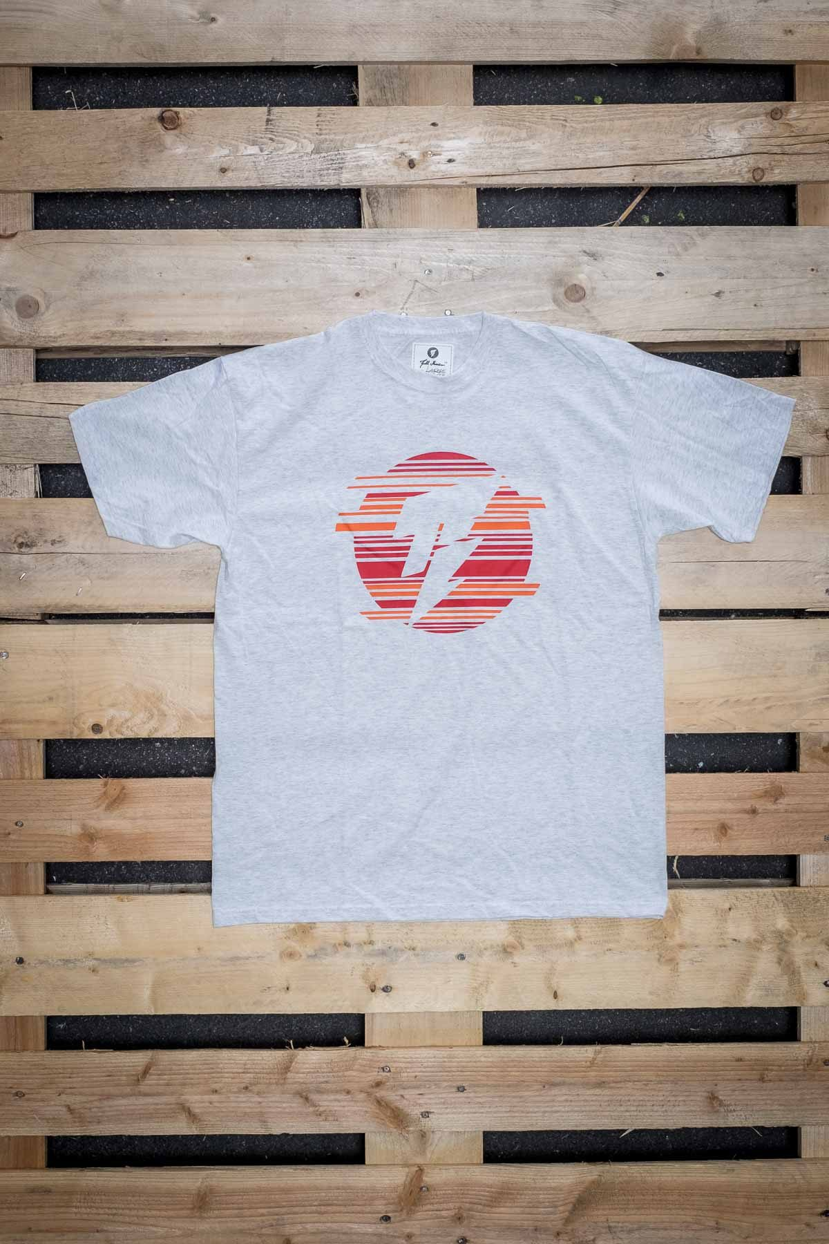 Full Mine Classic Tee Sunset Front Logo