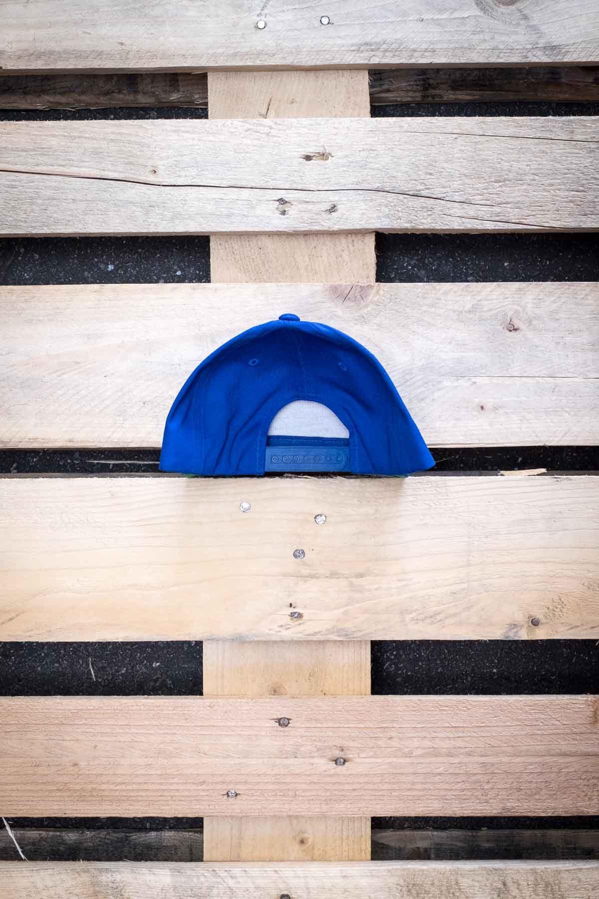 Full Mine Classic Snapback Blue Front Logo
