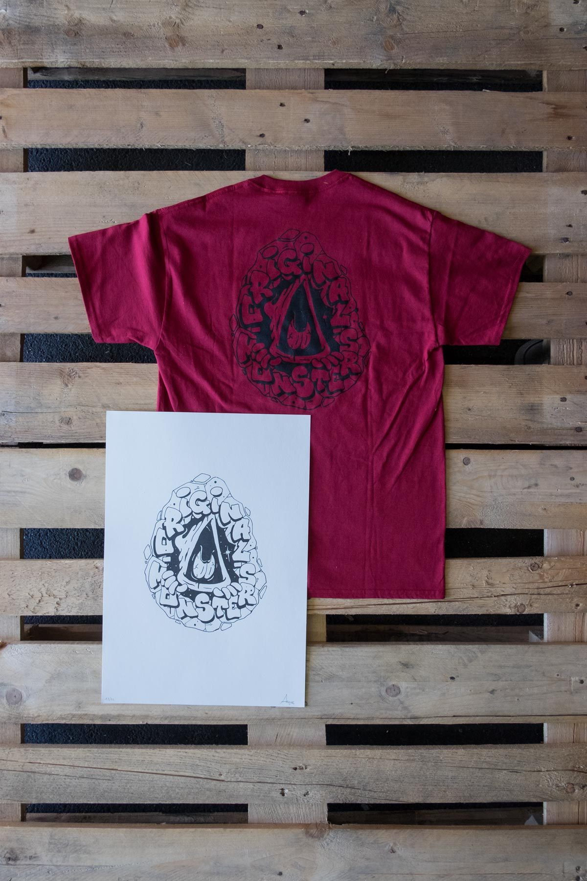 Original Monsters by AROME T-Shirt e Stampa Combo Pack