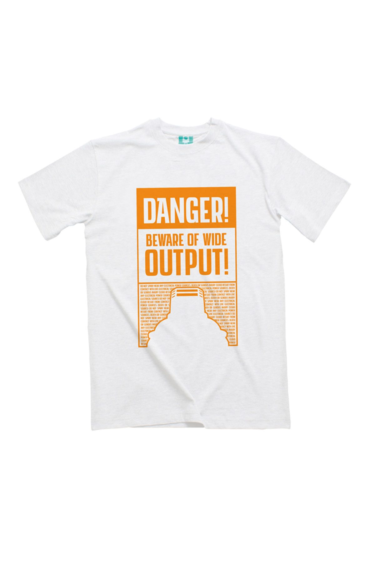Montana DANGER ULTRA-WIDE White T-Shirt