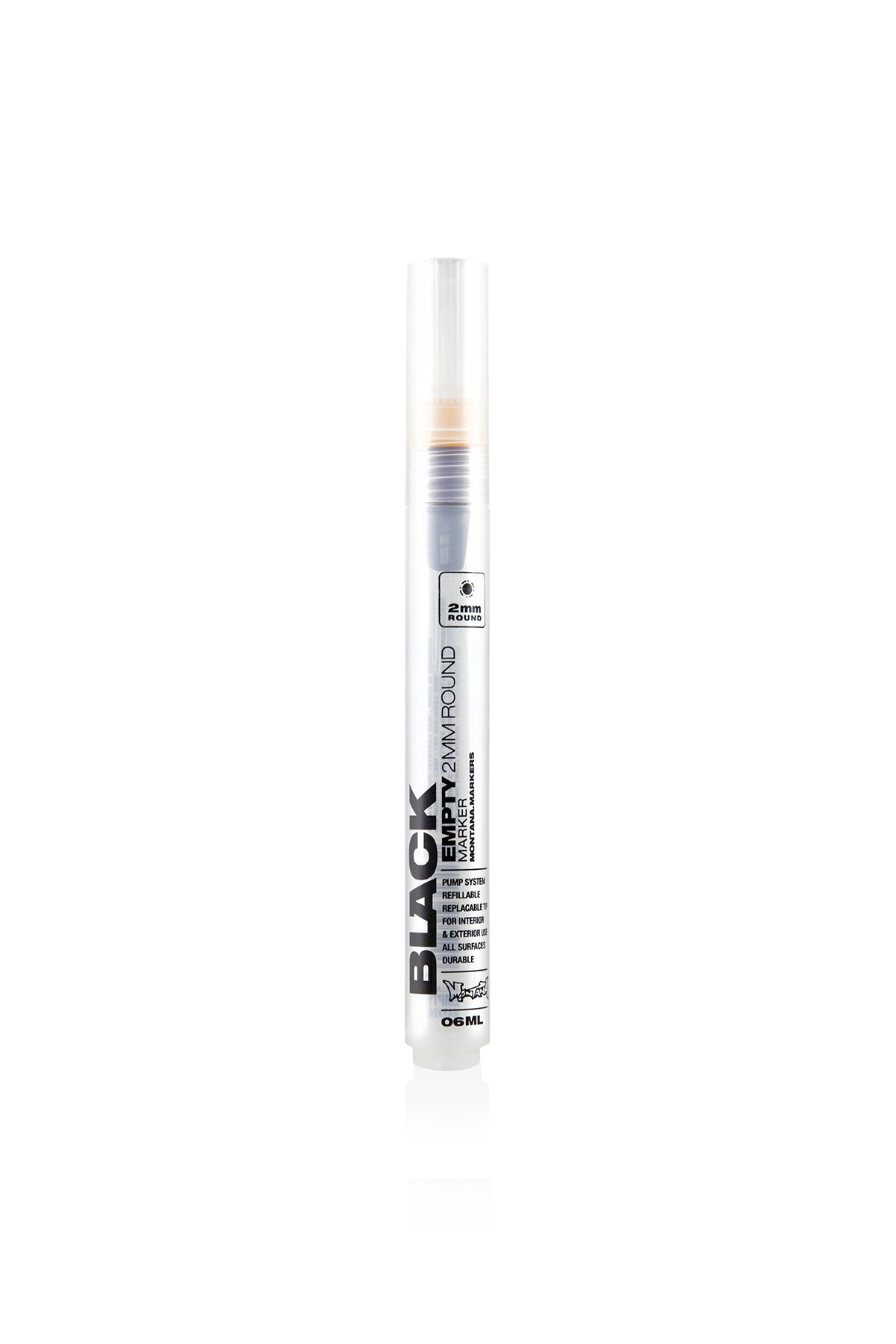 Montana BLACK EMPTY Marker 2mm/06ml