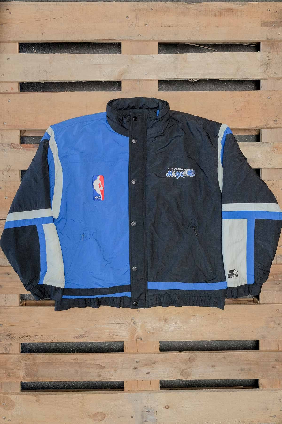 Orlando Magic GIUBBINO VINTAGE Nero-Blue