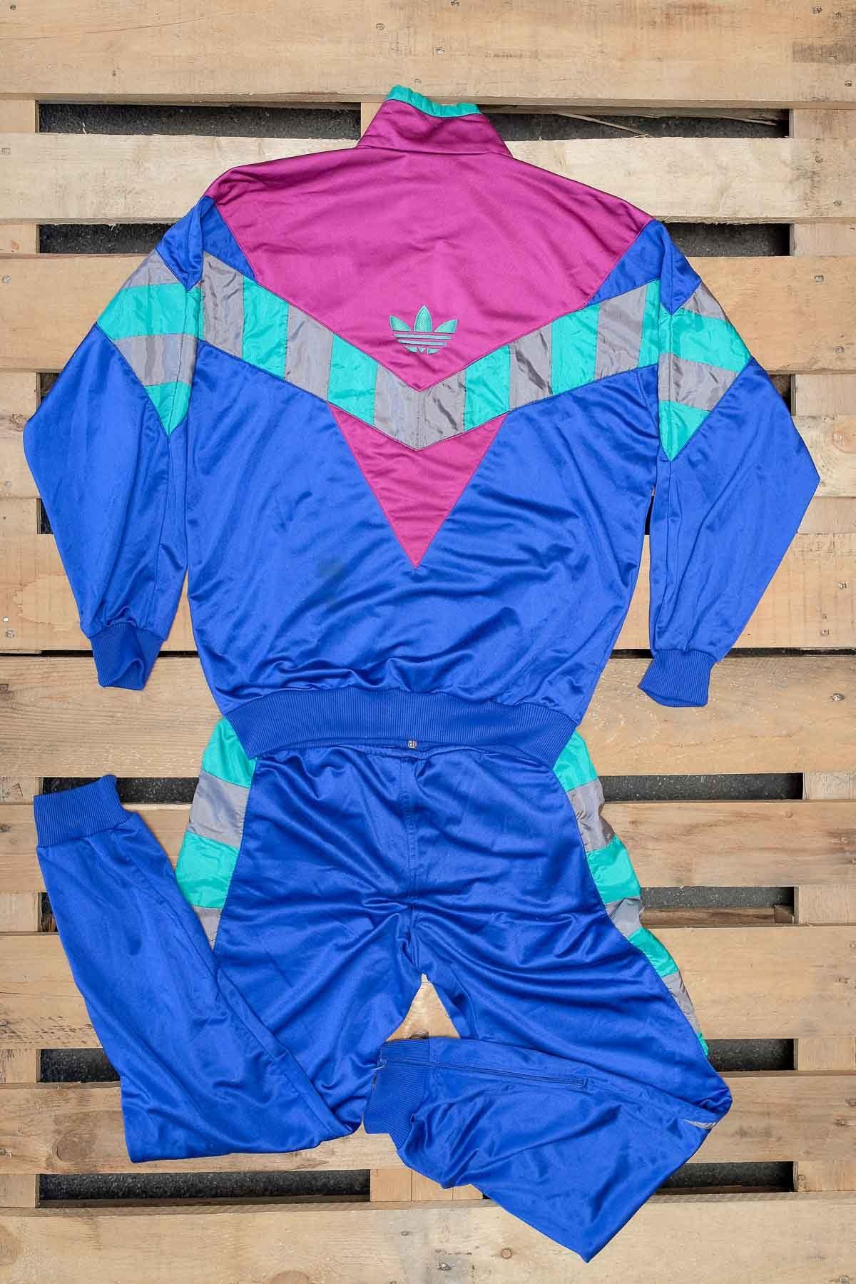 Adidas TUTA VINTAGE Blue