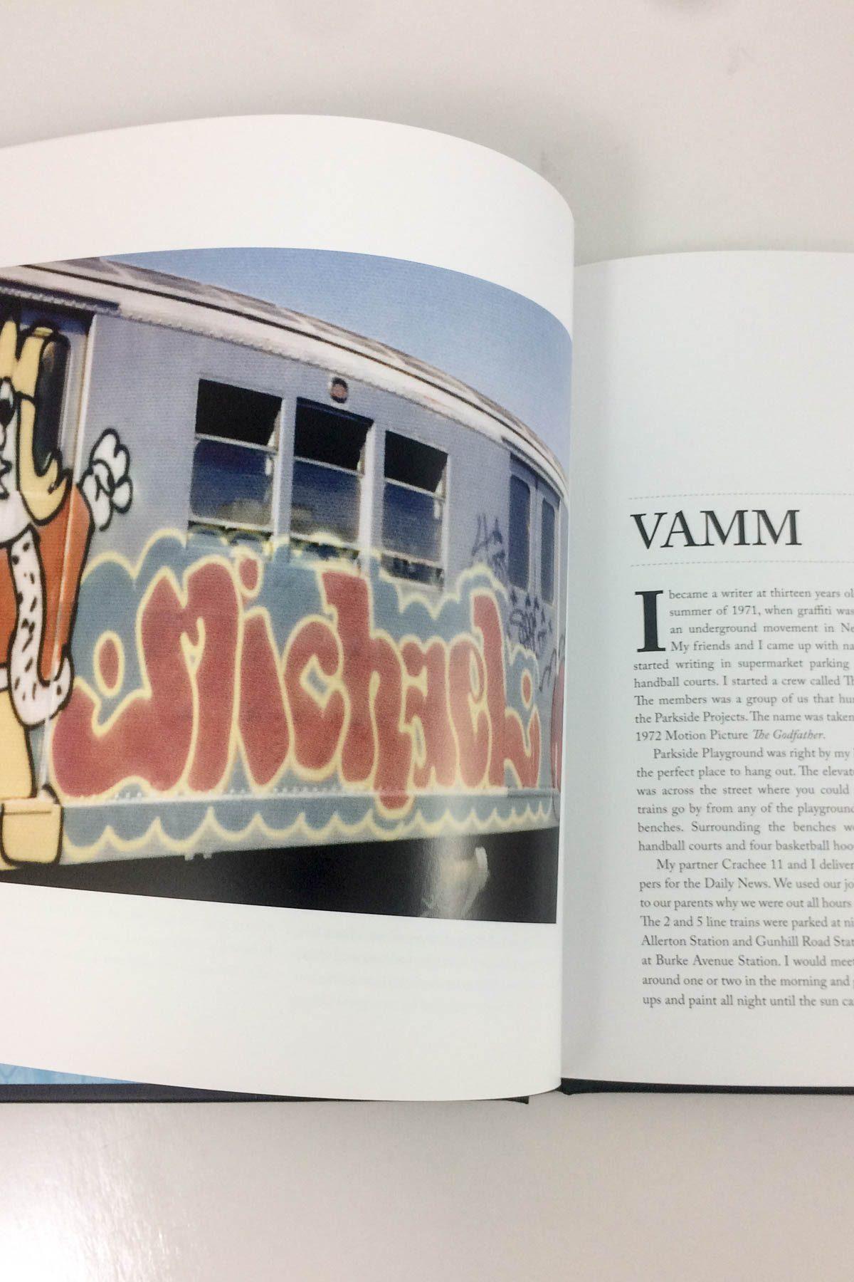 ork's pioneering subway graffiti writers di Alan Fleisher