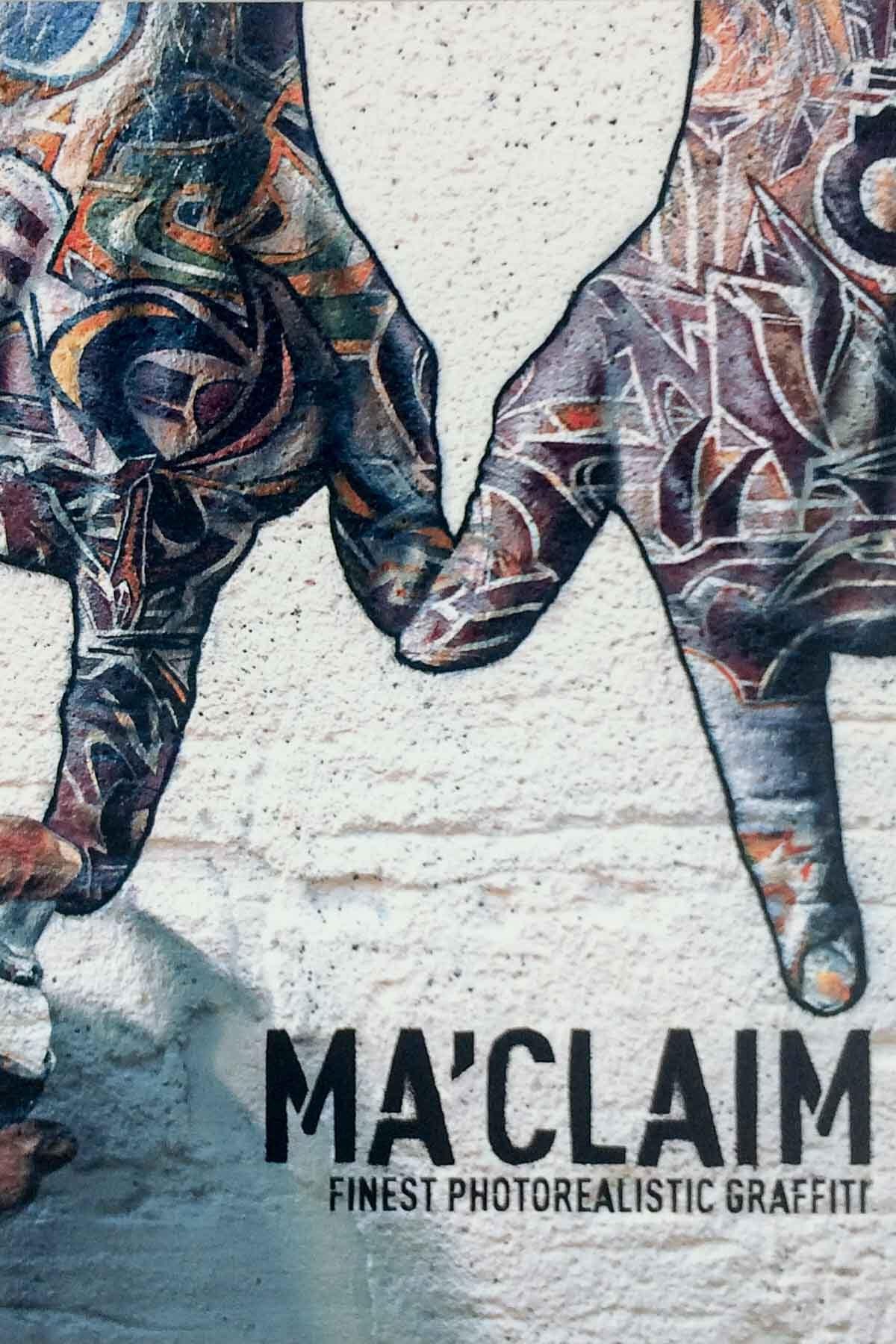 MA'CLAIM - Finest photorealistic graffiti di Falk Lehmann