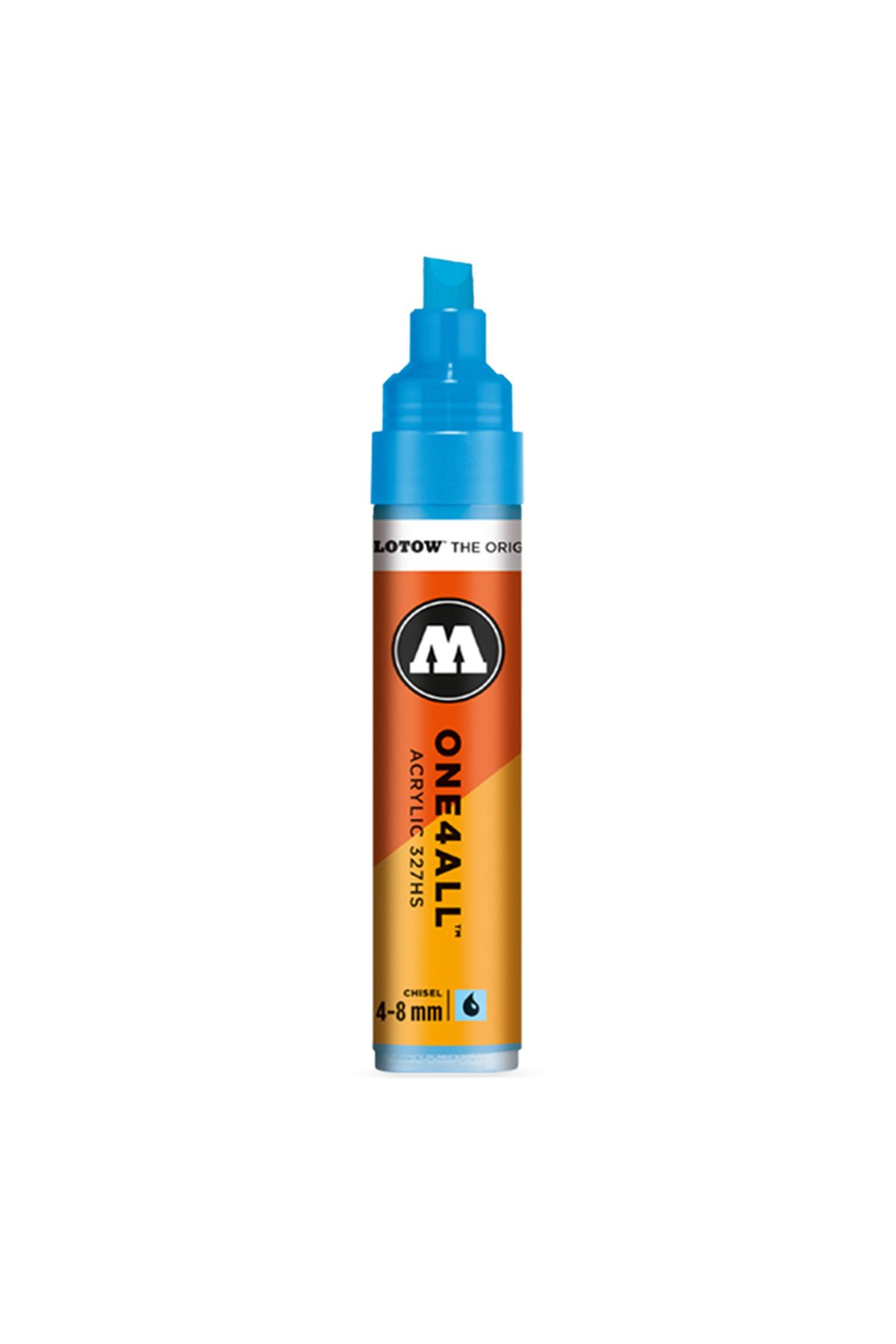 Molotow ONE4ALL 327HS Chisel/Round Tip Marker 4-8mm