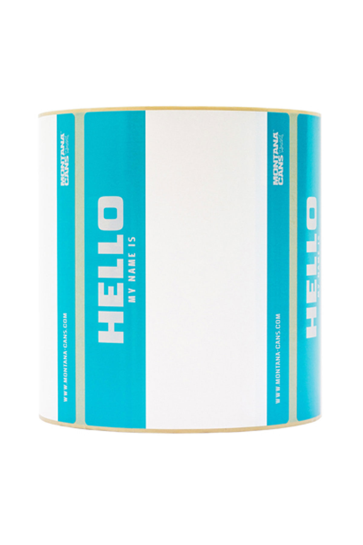 Montana HELLO MY NAME IS Rotolo x500 Sticker