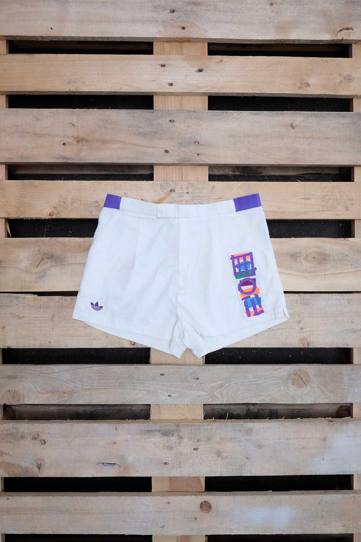 Adidas PANTALONCINO VINTAGE Bianco