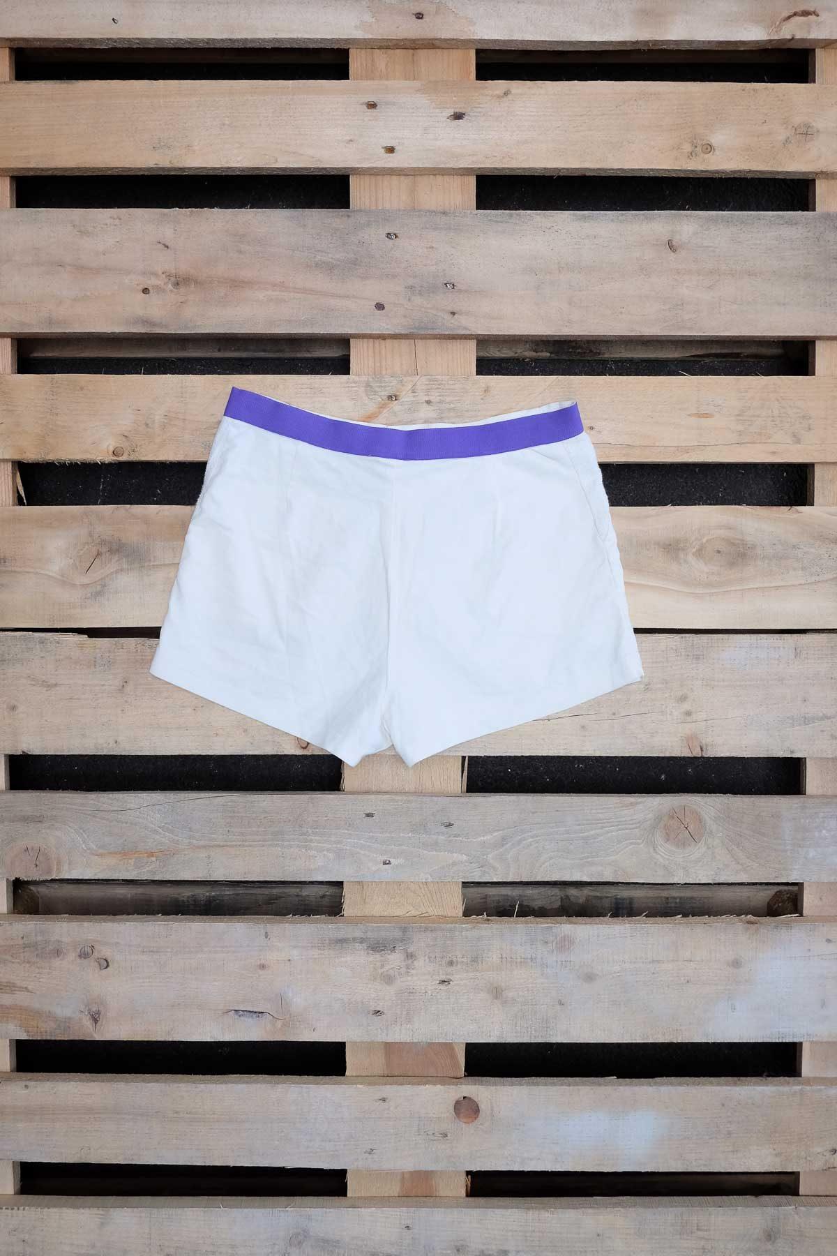 Adidas PANTALONCINO VINTAGE Bianco S