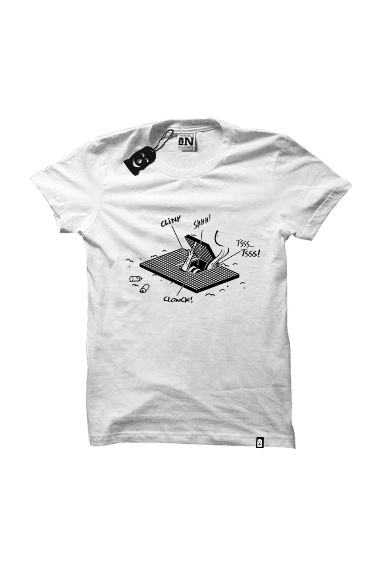 Vandals On Holidays HATCH STORIES T-Shirt