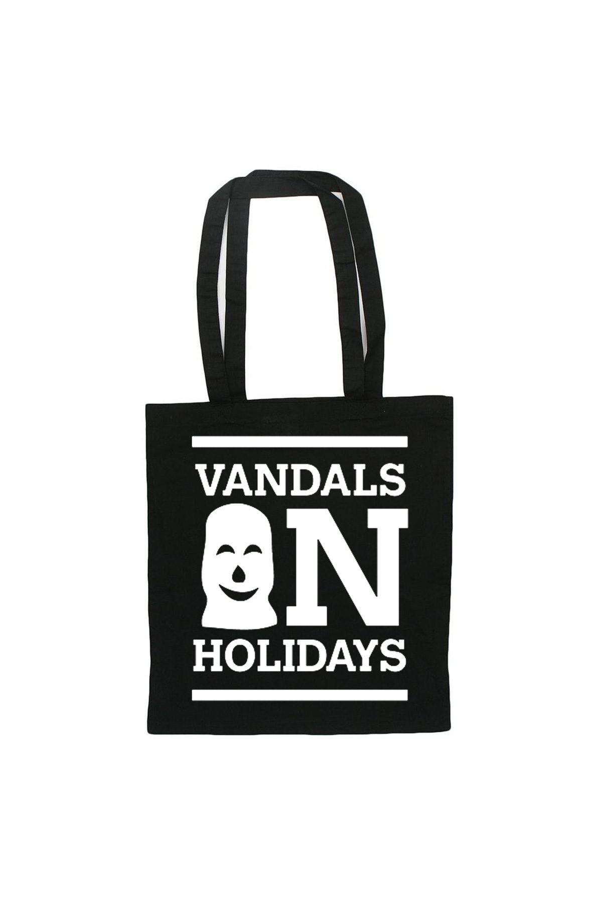Vandals On Holidays LOGO Cotton Bag