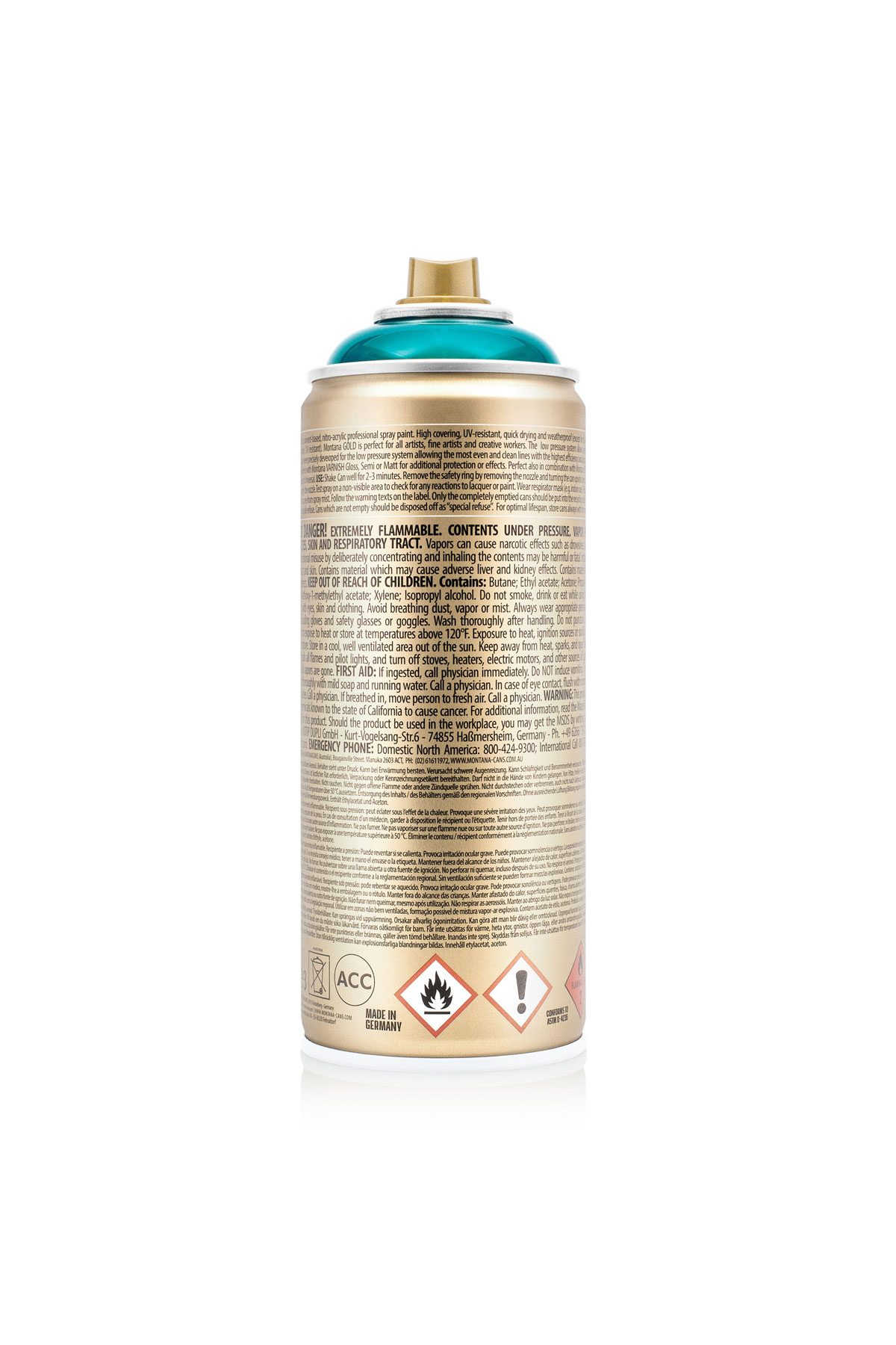 Montana GOLD Transparent Colors 400ml