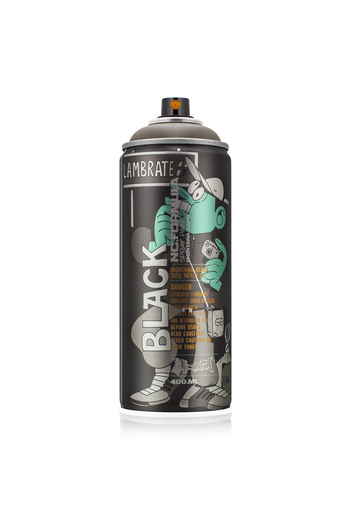Montana BLACK ARTIST EDITION - LUGOSIS 400ml