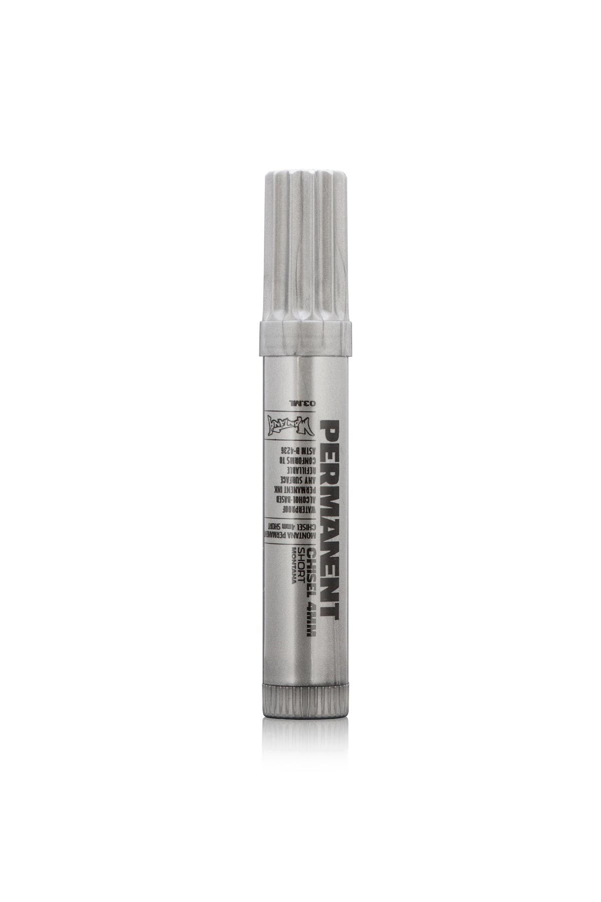 Montana PERMANENT Marker silver 4mm