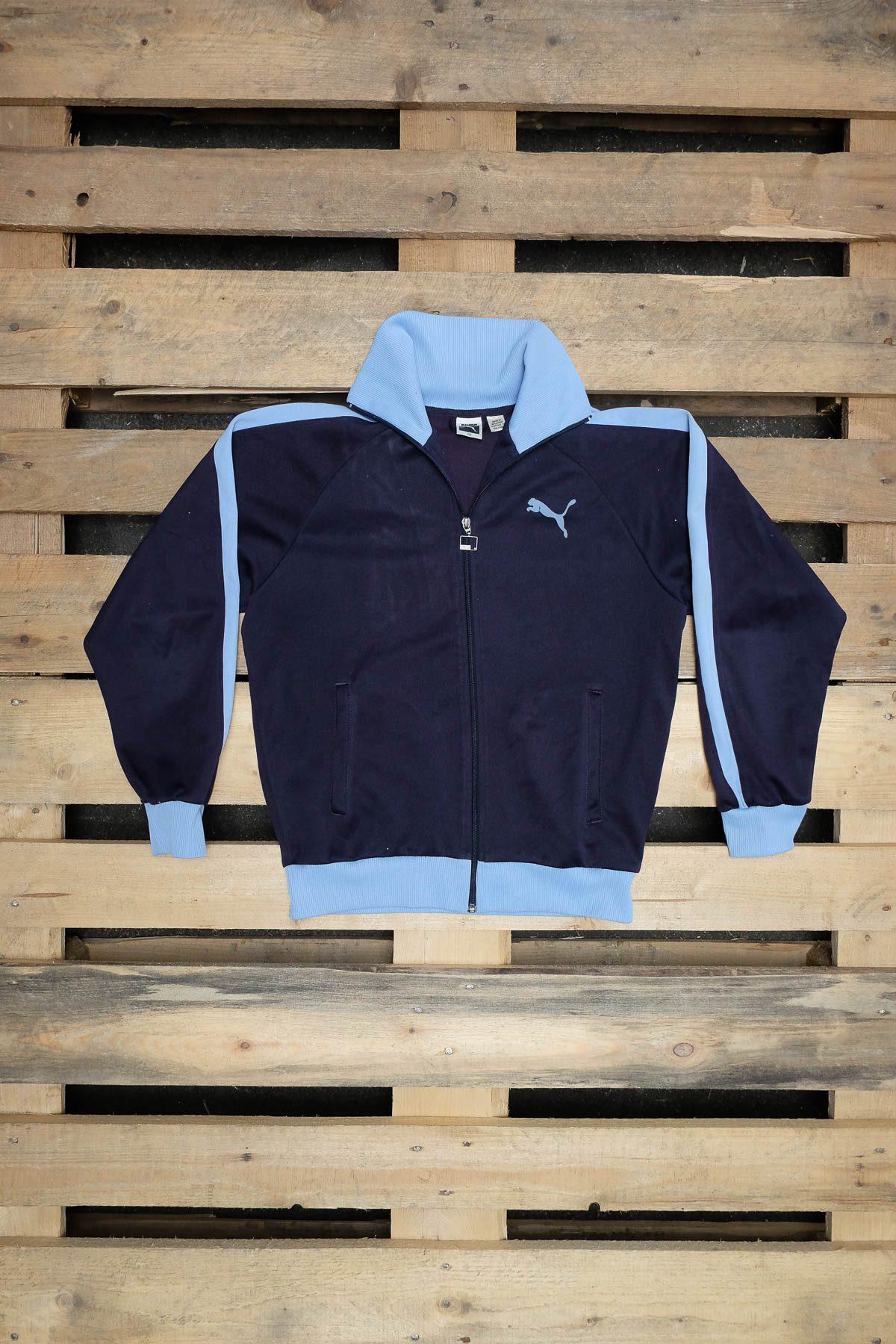 Puma FELPA VINTAGE Blue Dark