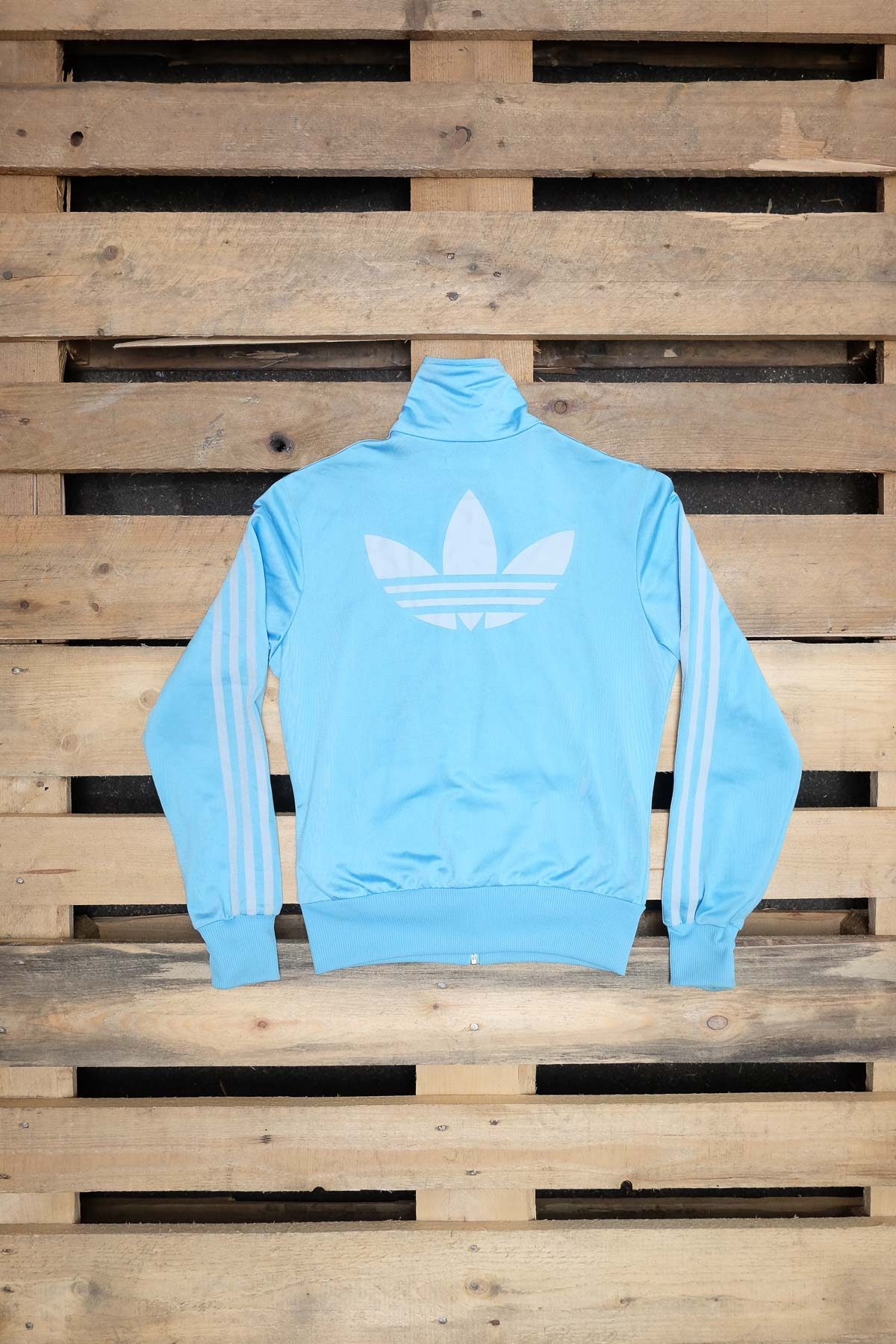 Adidas Original FELPA VINTAGE Light Blue