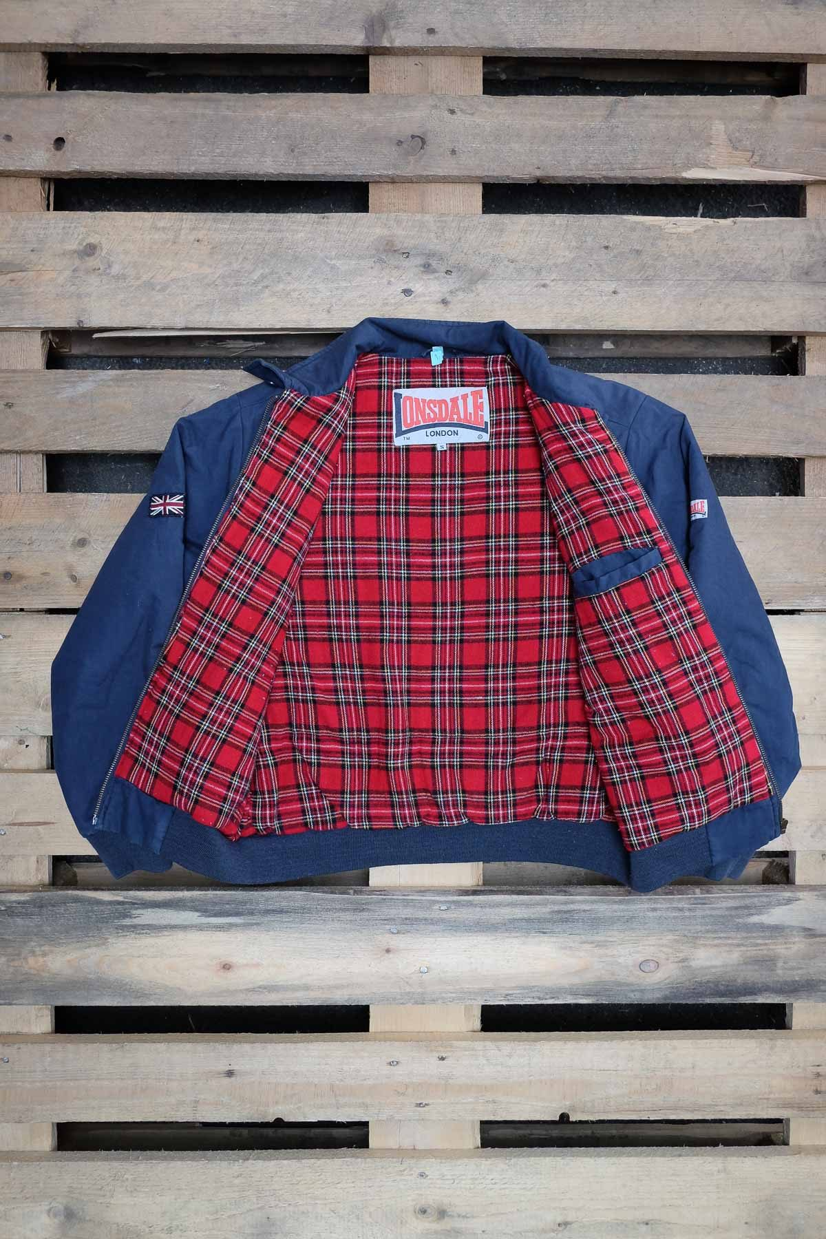 Londsdale GIACCA HARRINGTON Blue