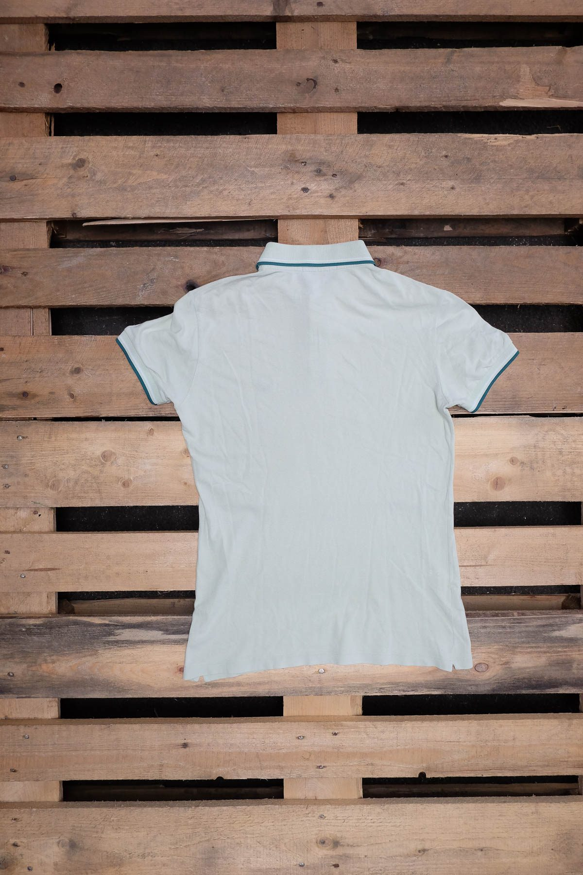 Fred Perry T-SHIRT POLO VINTAGE Light Green