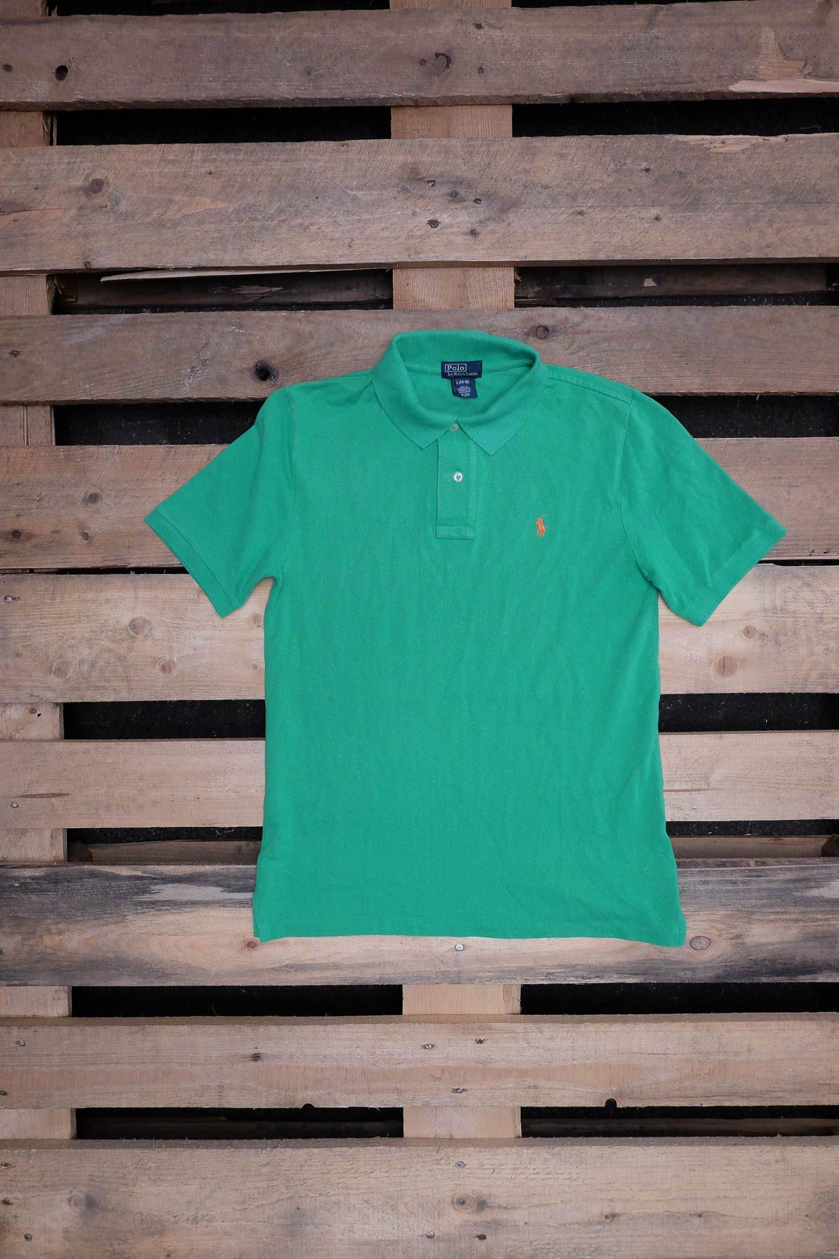 Ralph Lauren T-SHIRT POLO VINTAGE Green