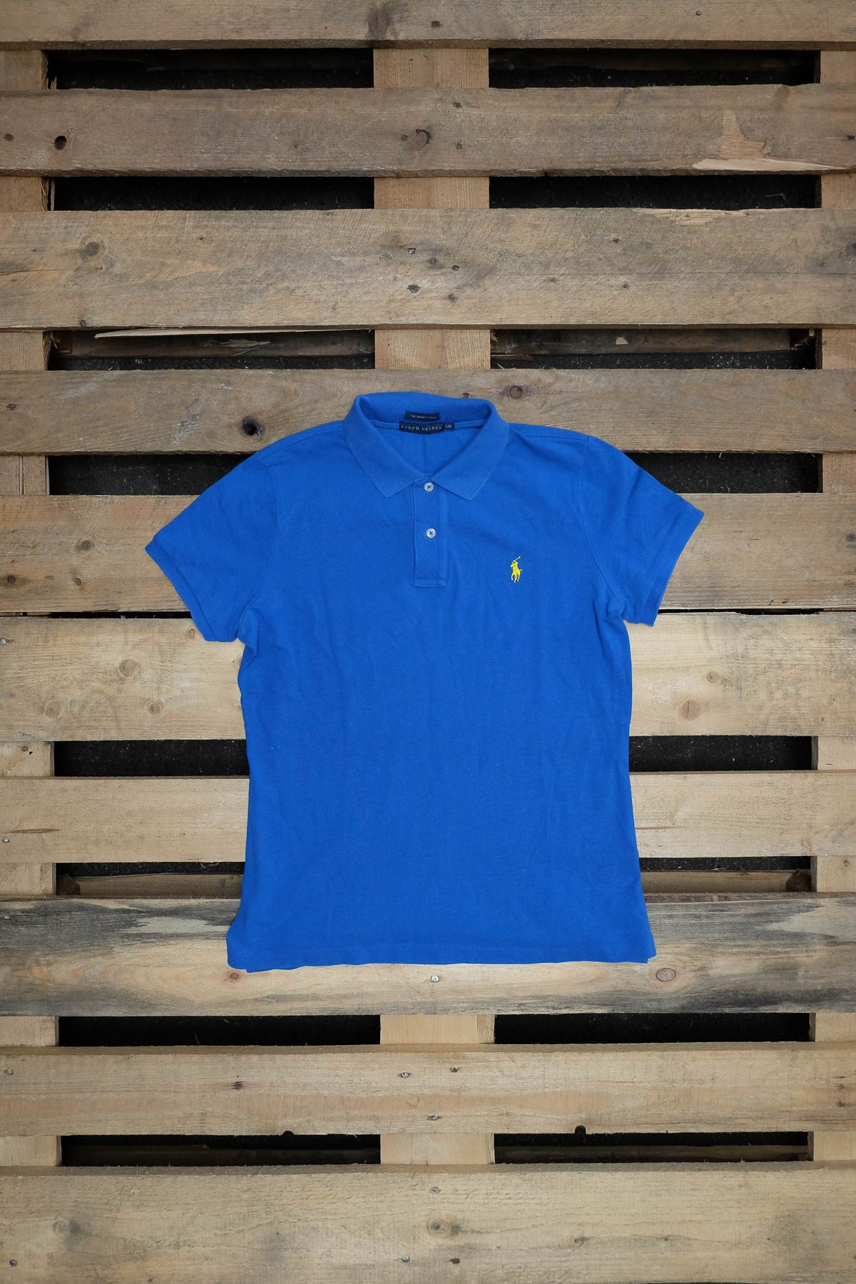 Ralph Lauren T-SHIRT POLO VINTAGE Blue