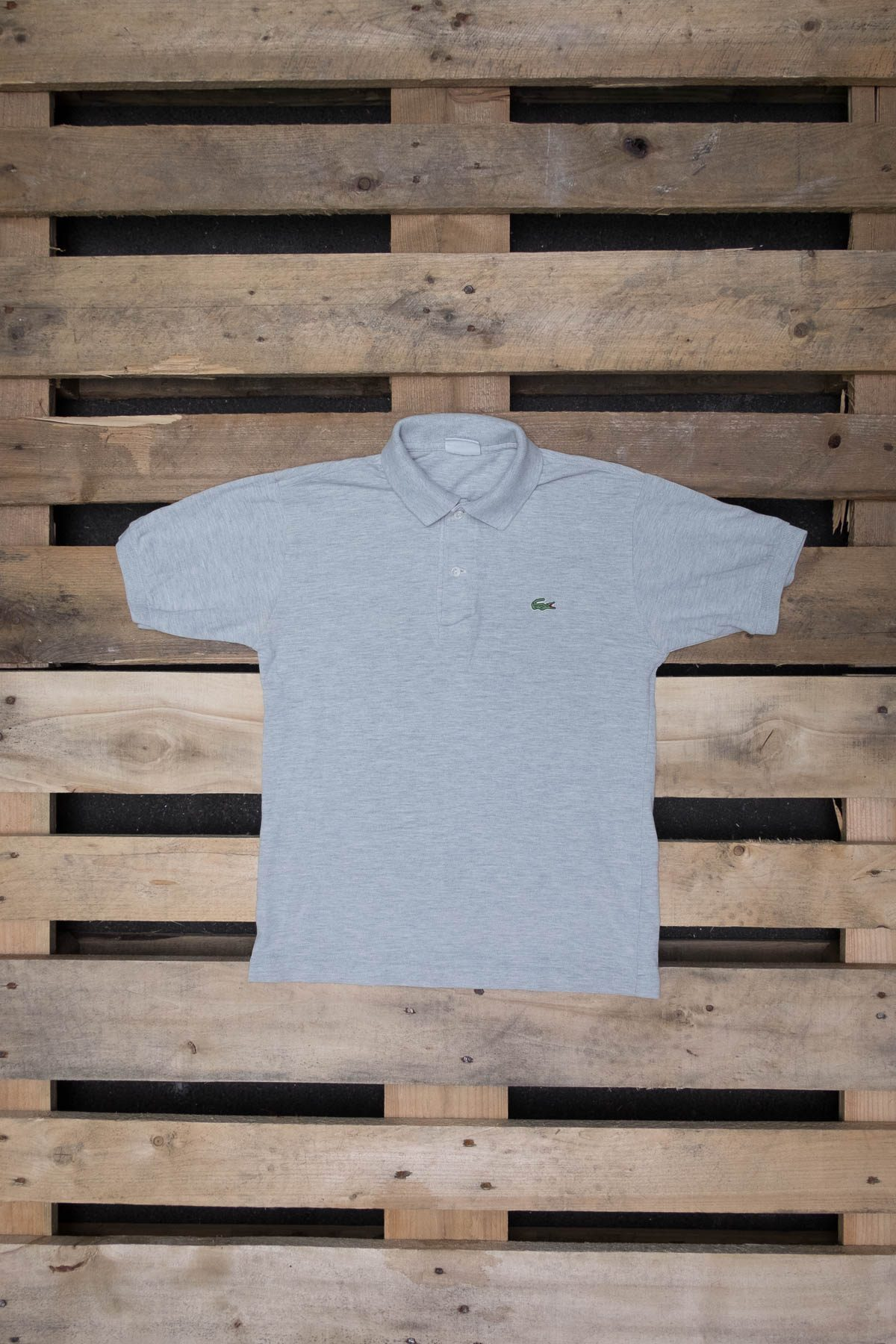 Lacoste T-SHIRT POLO VINTAGE Grey