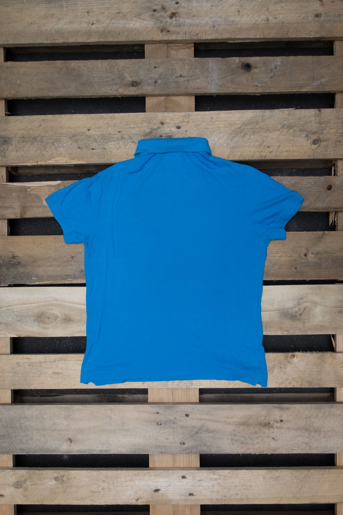 Lacoste T-SHIRT POLO VINTAGE Light Blue