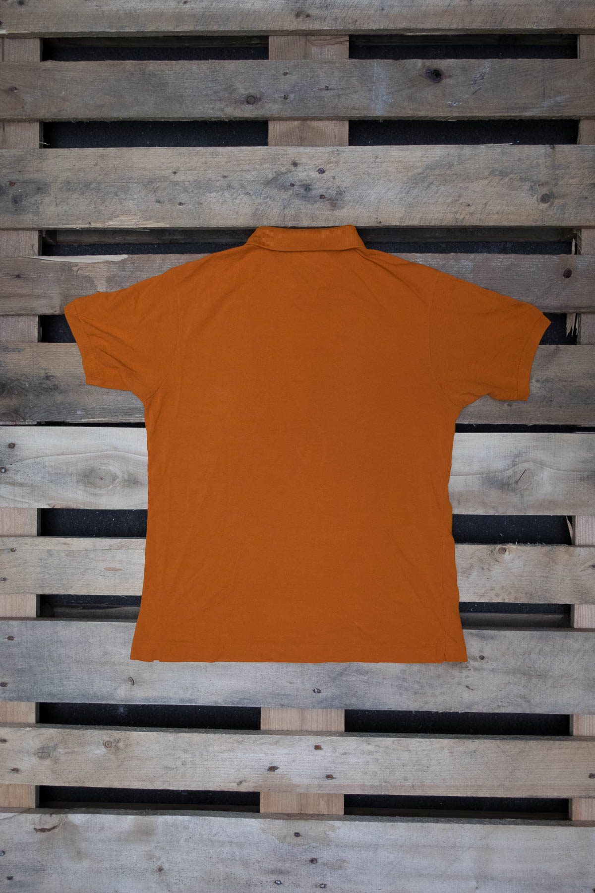 Lacoste T-SHIRT POLO VINTAGE Orange