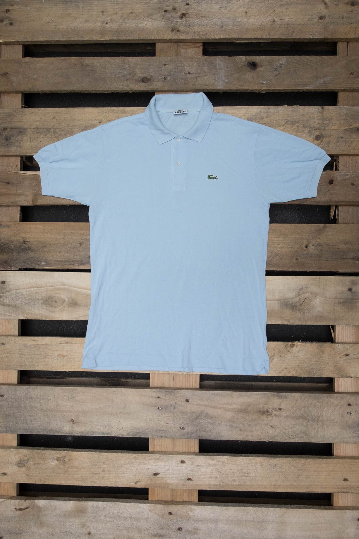 Lacoste T-SHIRT POLO VINTAGE Ice Blue