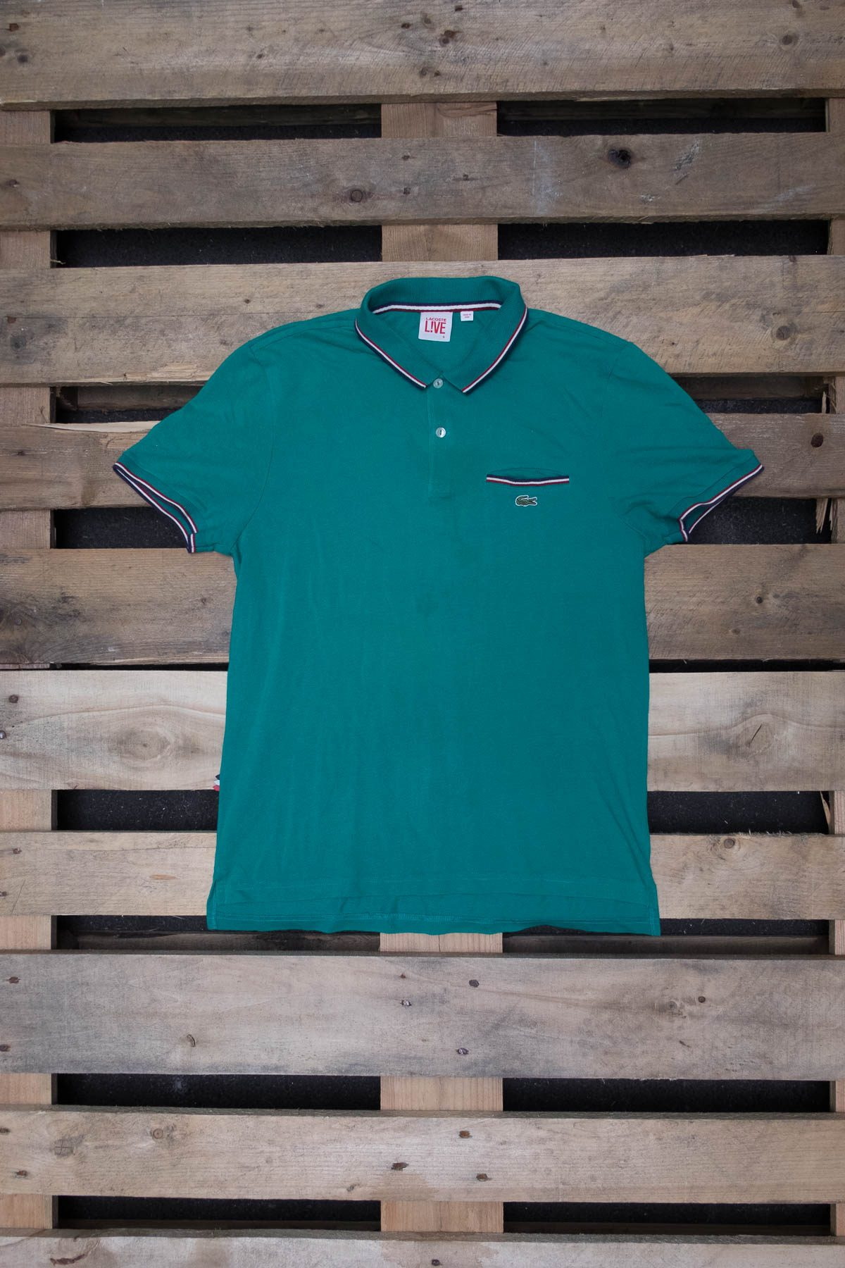 Lacoste T-SHIRT POLO VINTAGE Classic