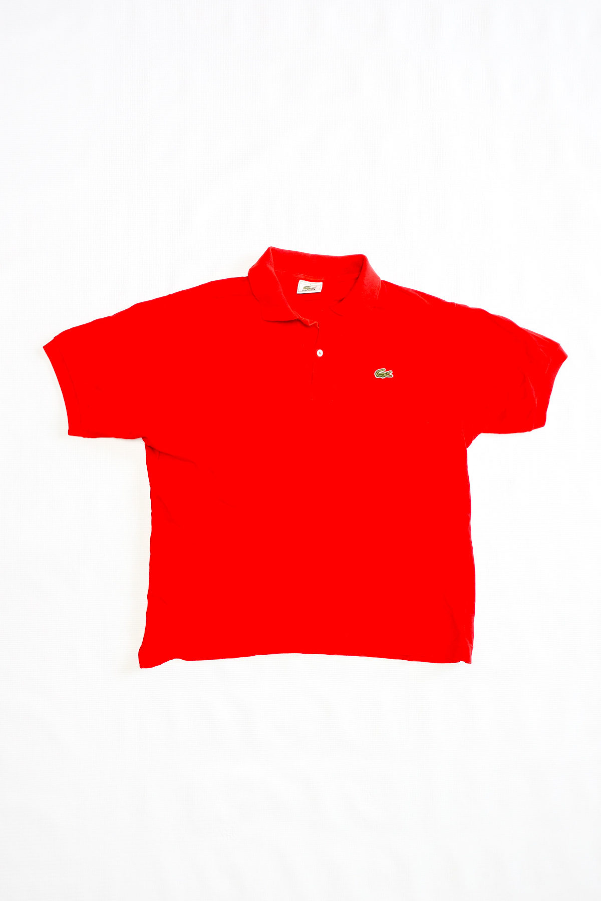 Lacoste POLO VINTAGE Red