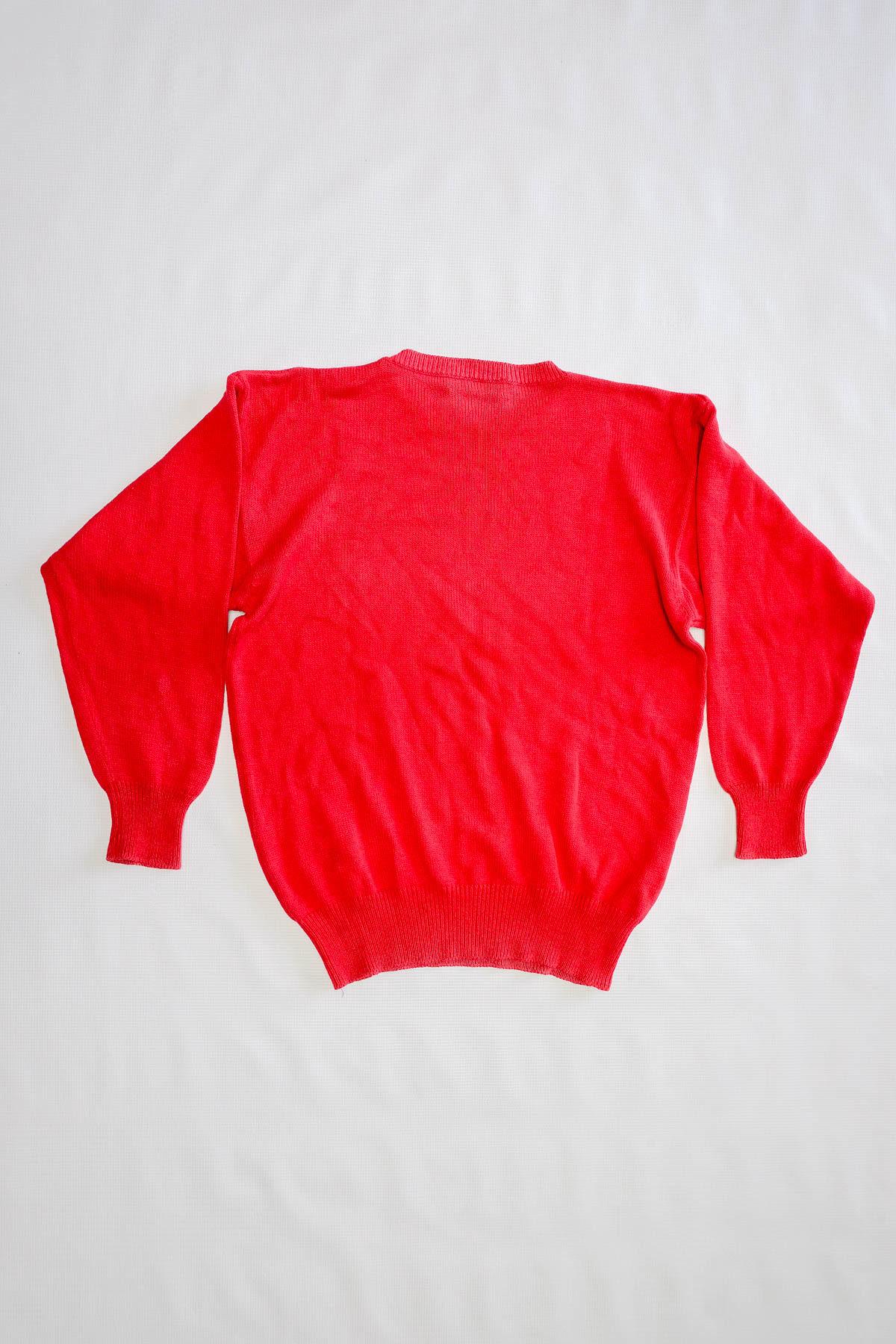 Robe Di Kappa MAGLIONE VINTAGE Red