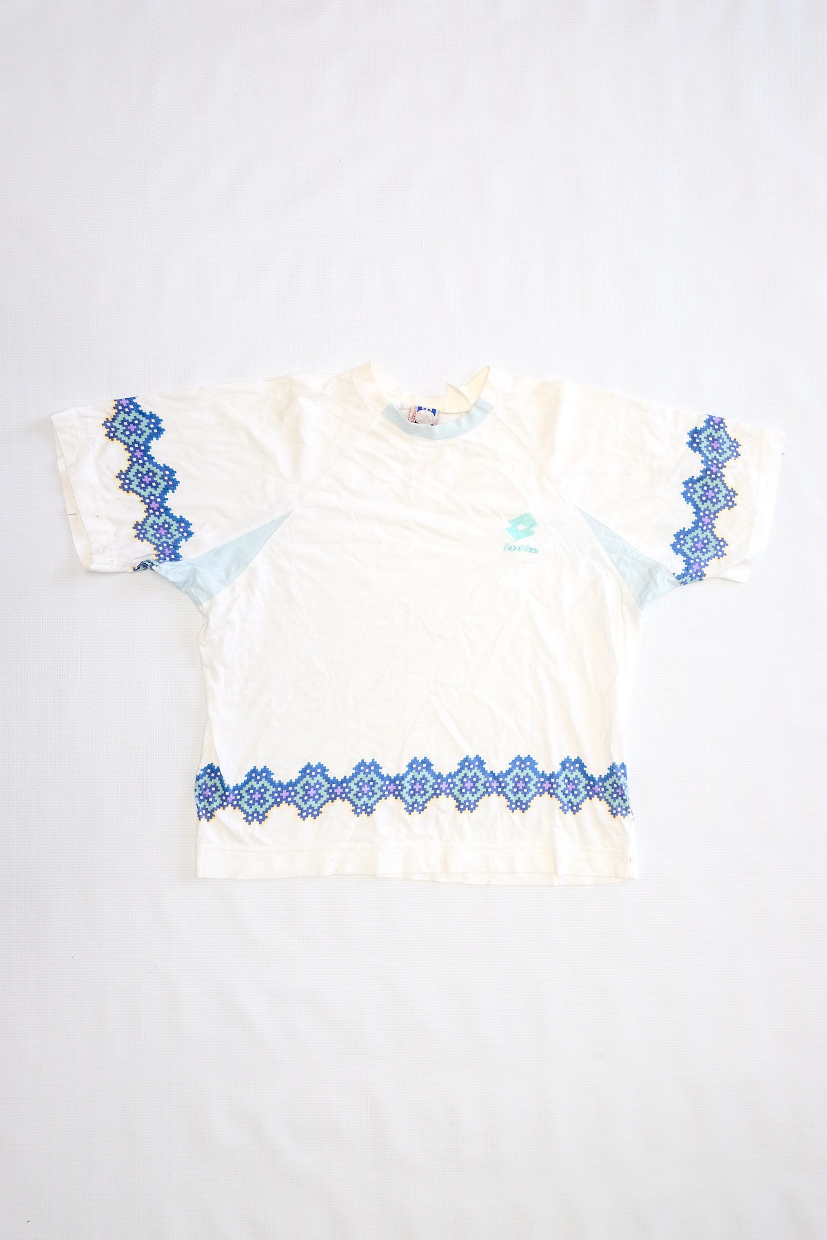 Lotto T-SHIRT VINTAGE White