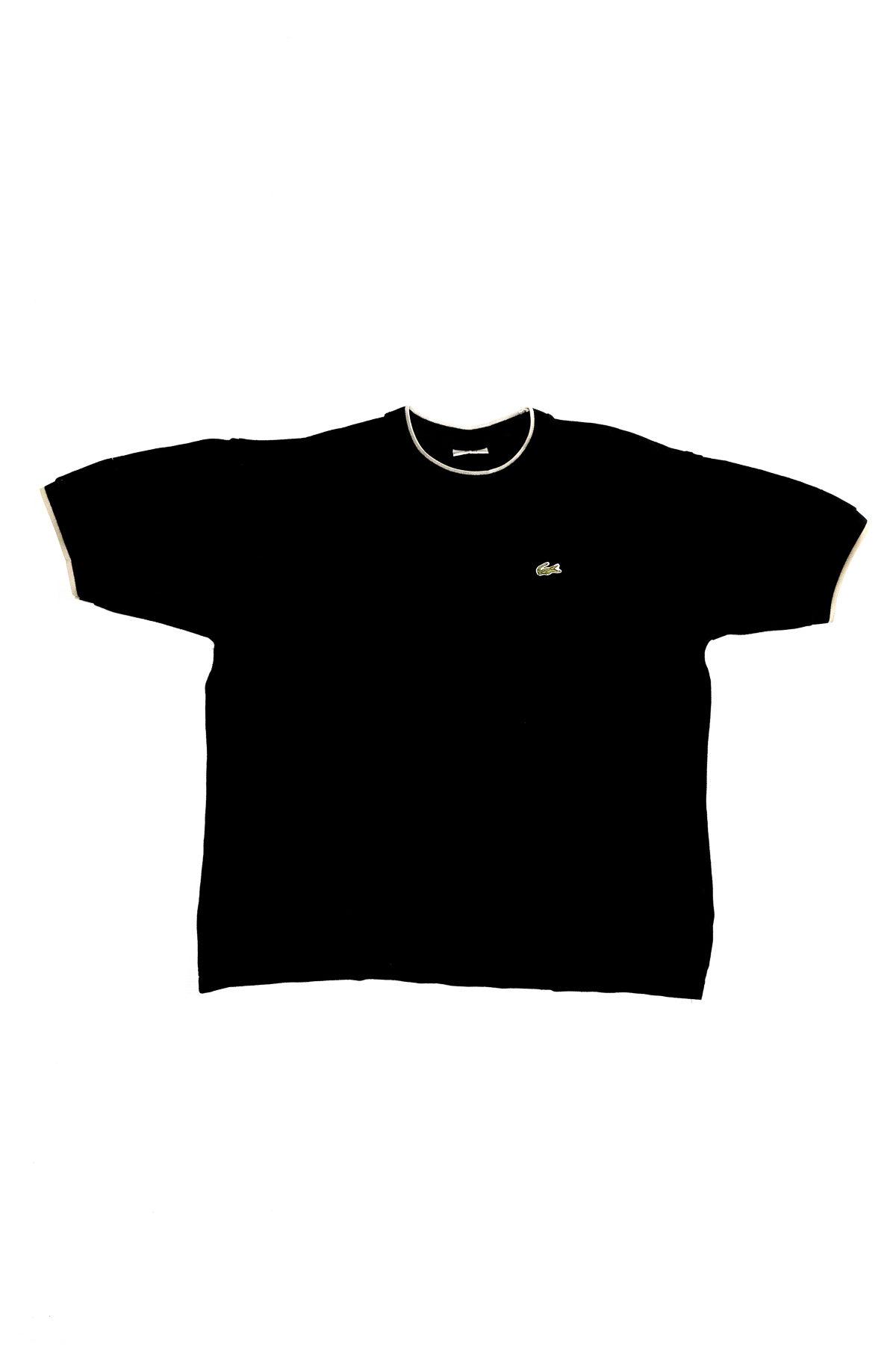 Lacoste T-SHIRT VINTAGE Black