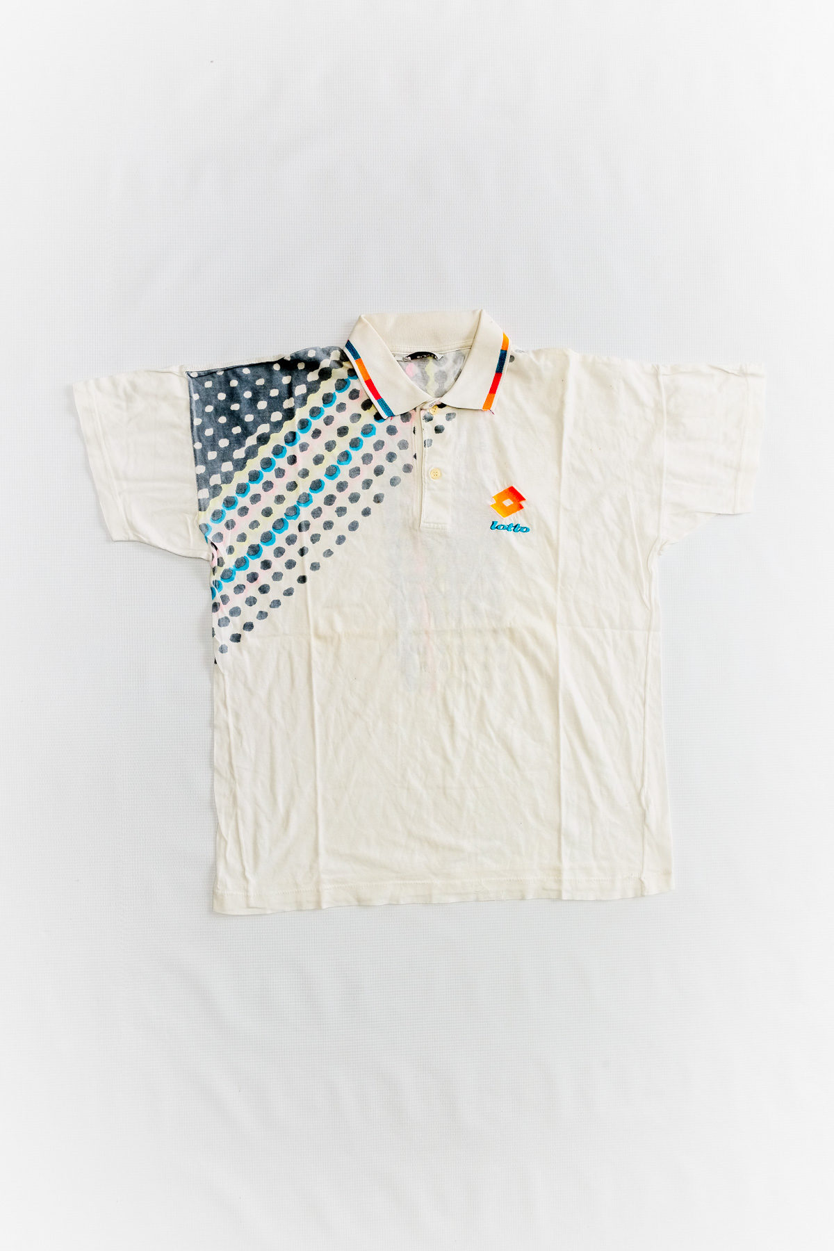 Lotto POLO VINTAGE WHITE