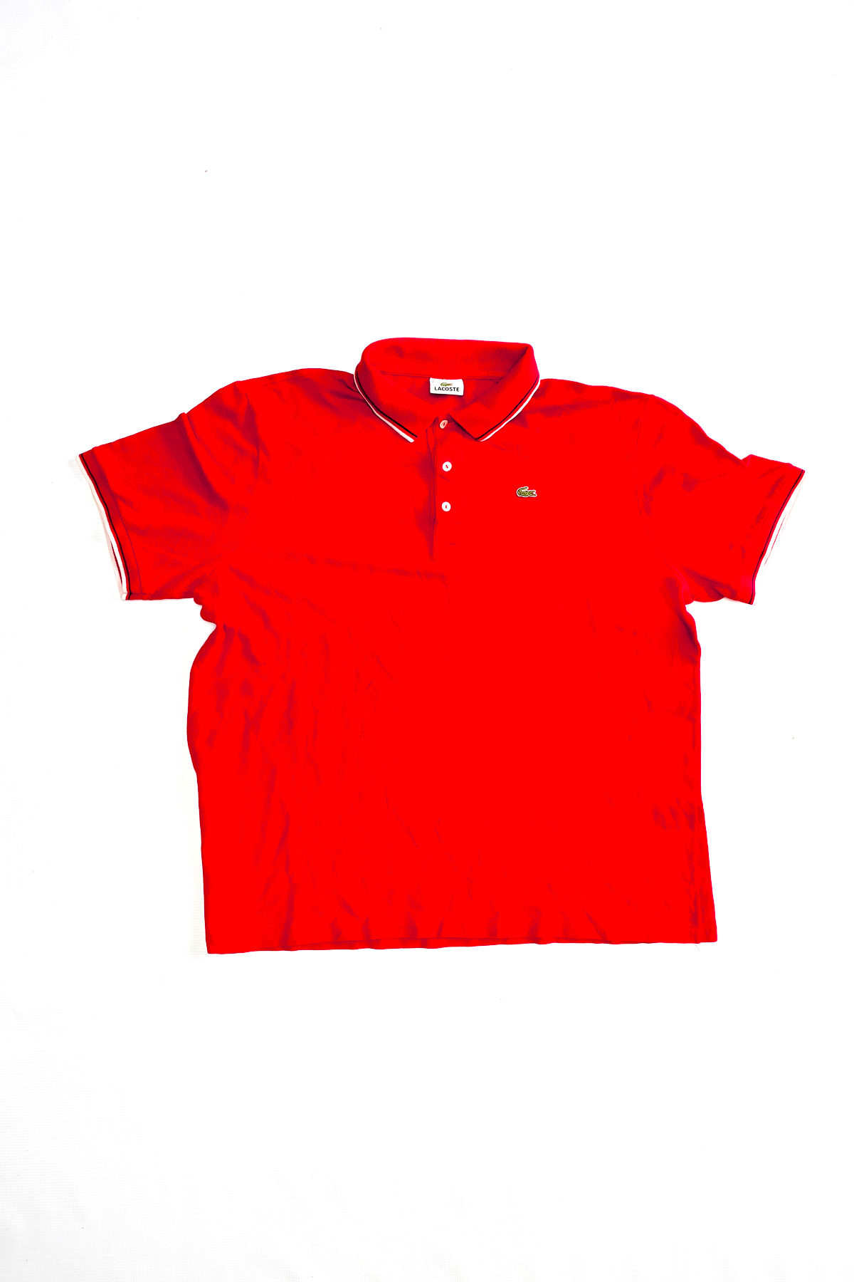 Lacoste POLO VINTAGE Red White