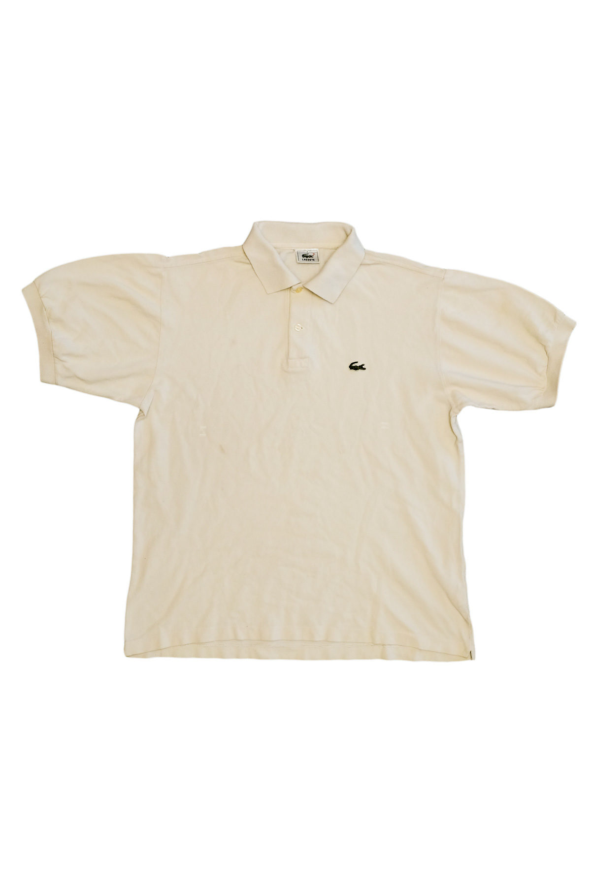 Lacoste POLO VINTAGE Ivory